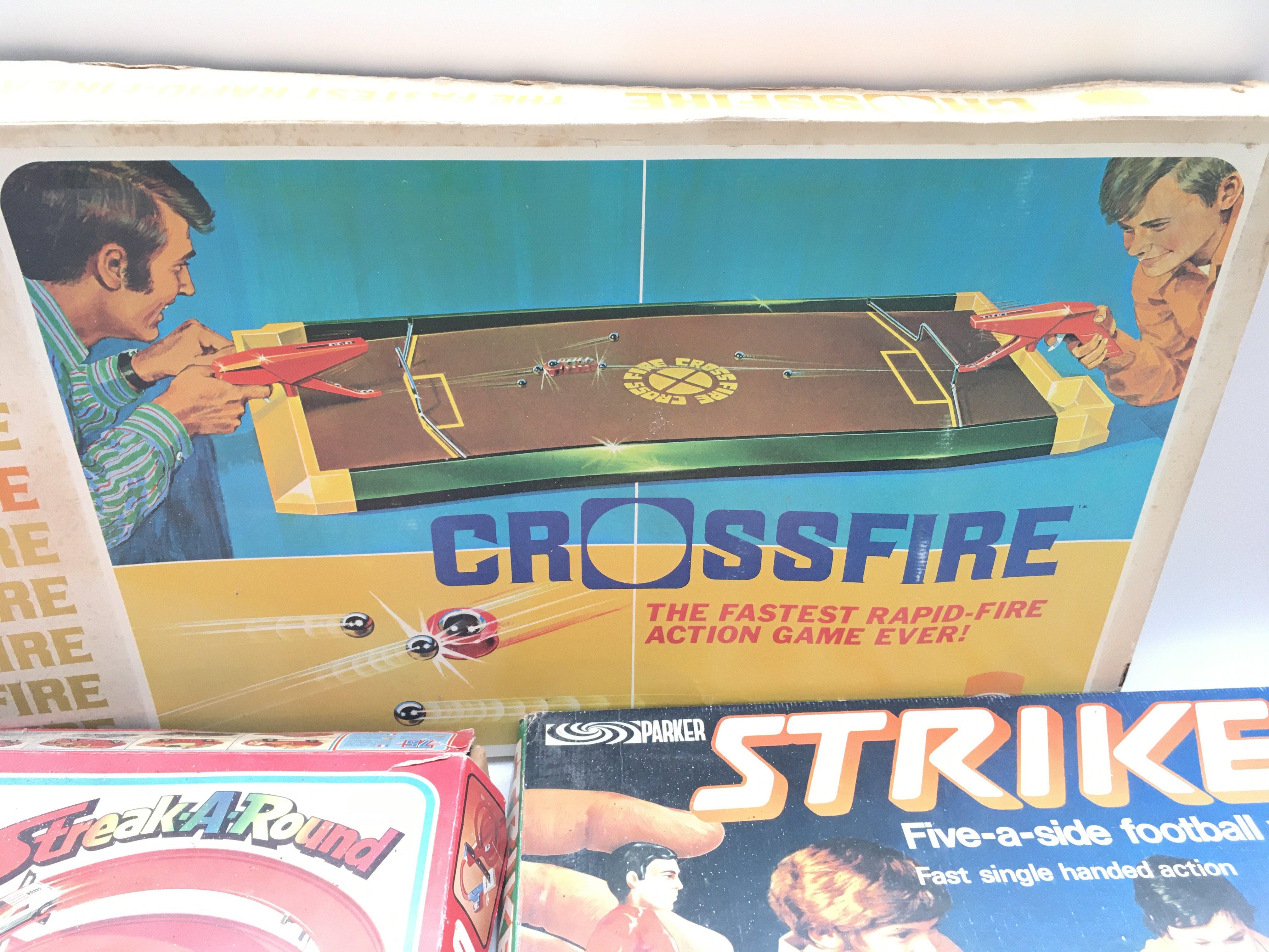 Collection of games including Matchbox. Striker. Arnold Palmer pro golf shot. Crossfire. - Image 4 of 9