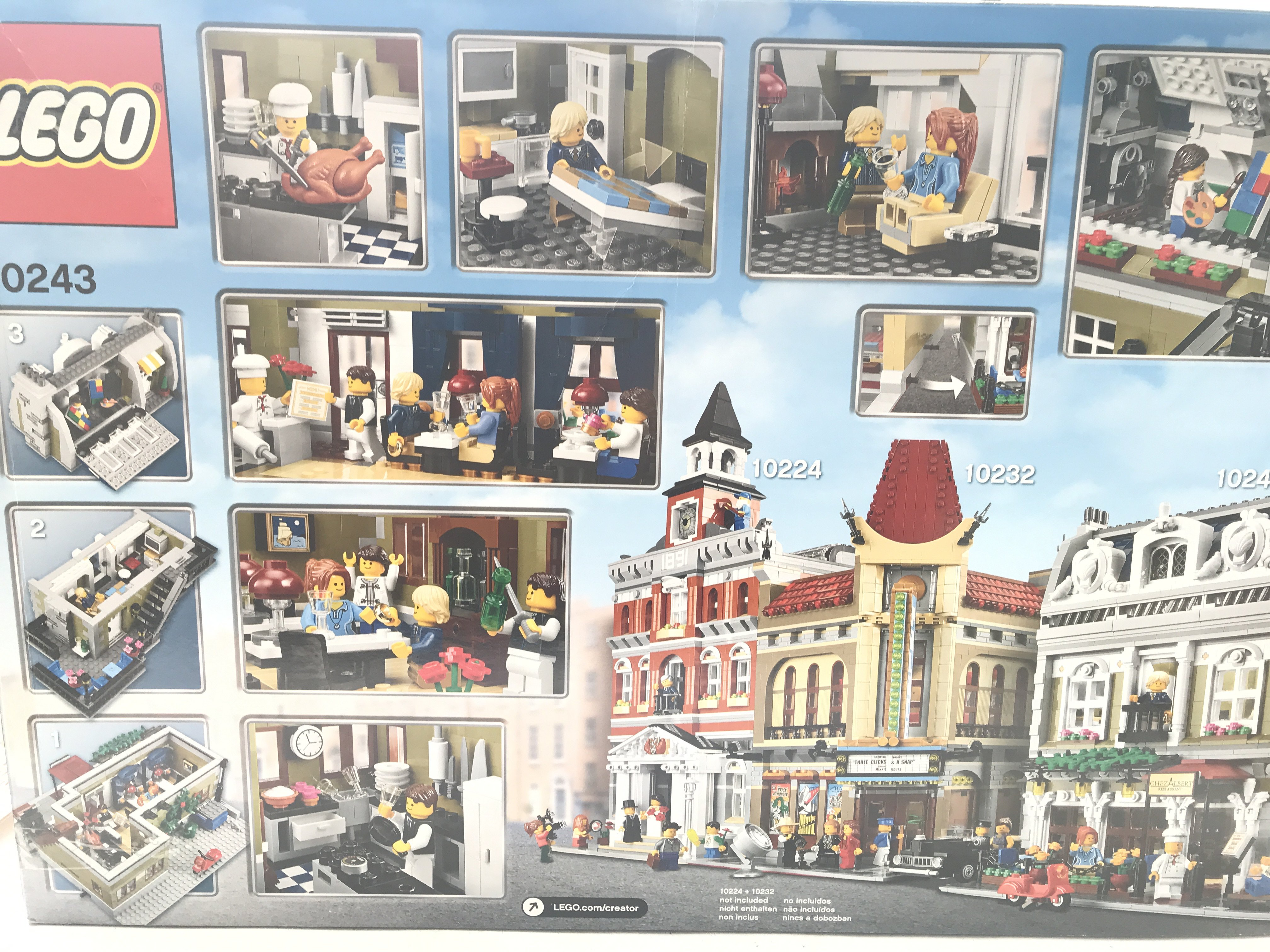 A Boxed Lego Parisian Restaurant 2469 pcs #10243. - Image 2 of 2