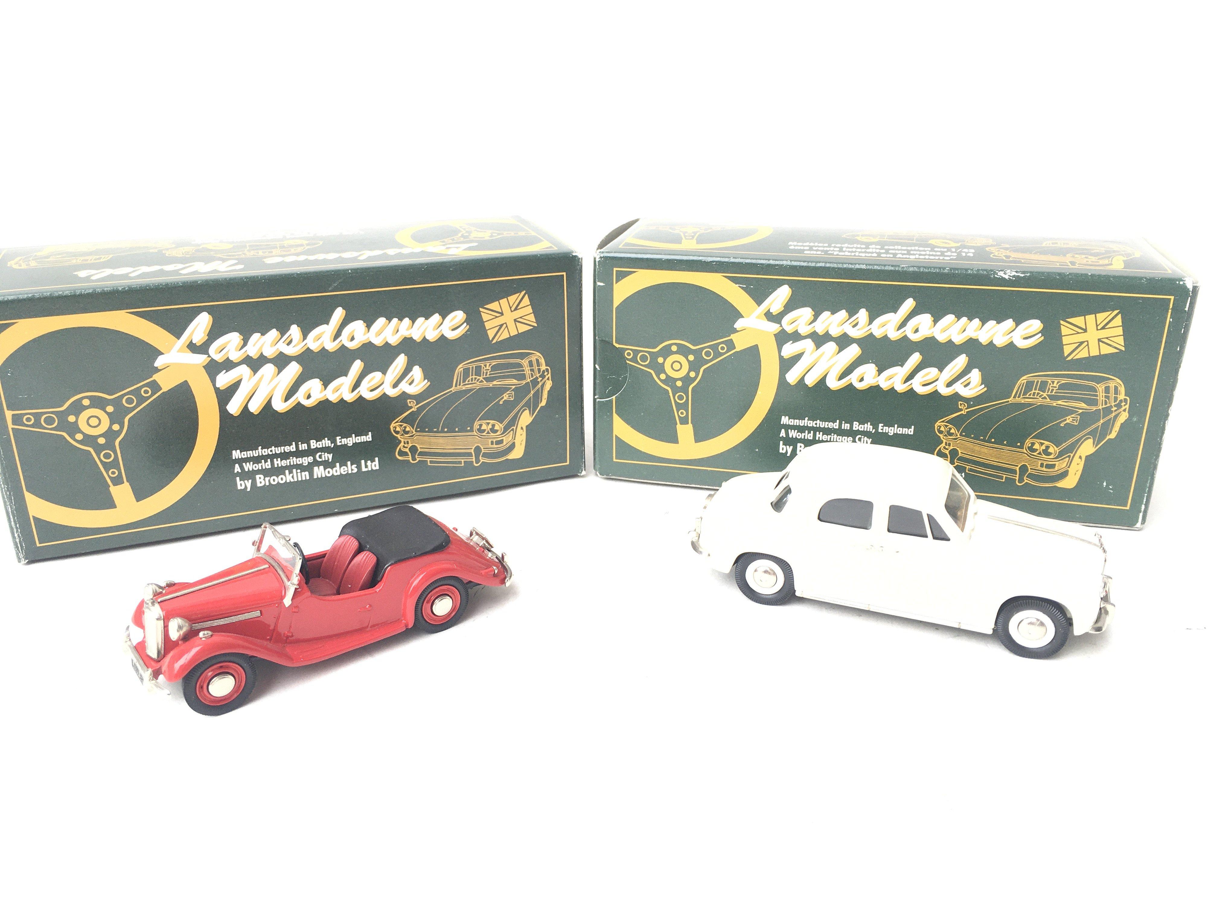2 X Lansdowne Models. LDM 25 1954 Singer SM Roadst