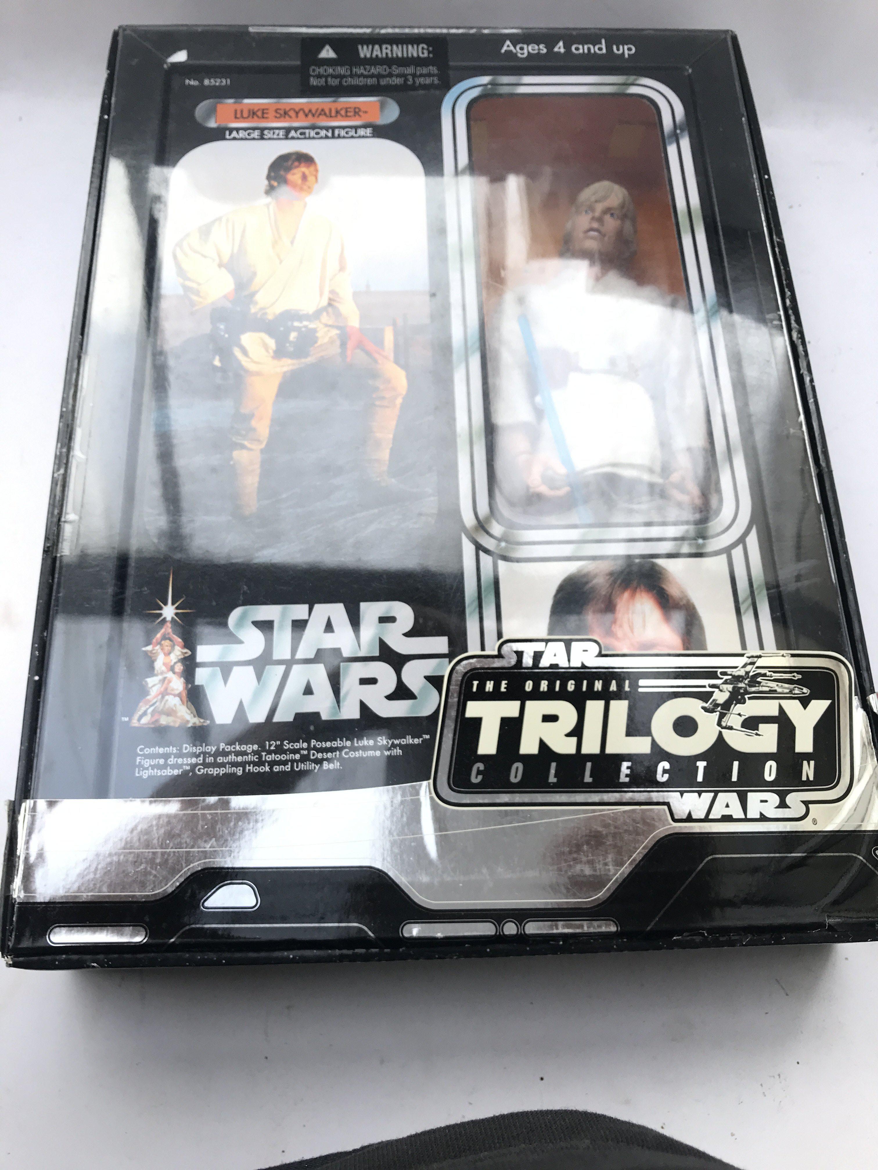 "A Star Wars Trilogy Collection Luke Skywalker 12"""