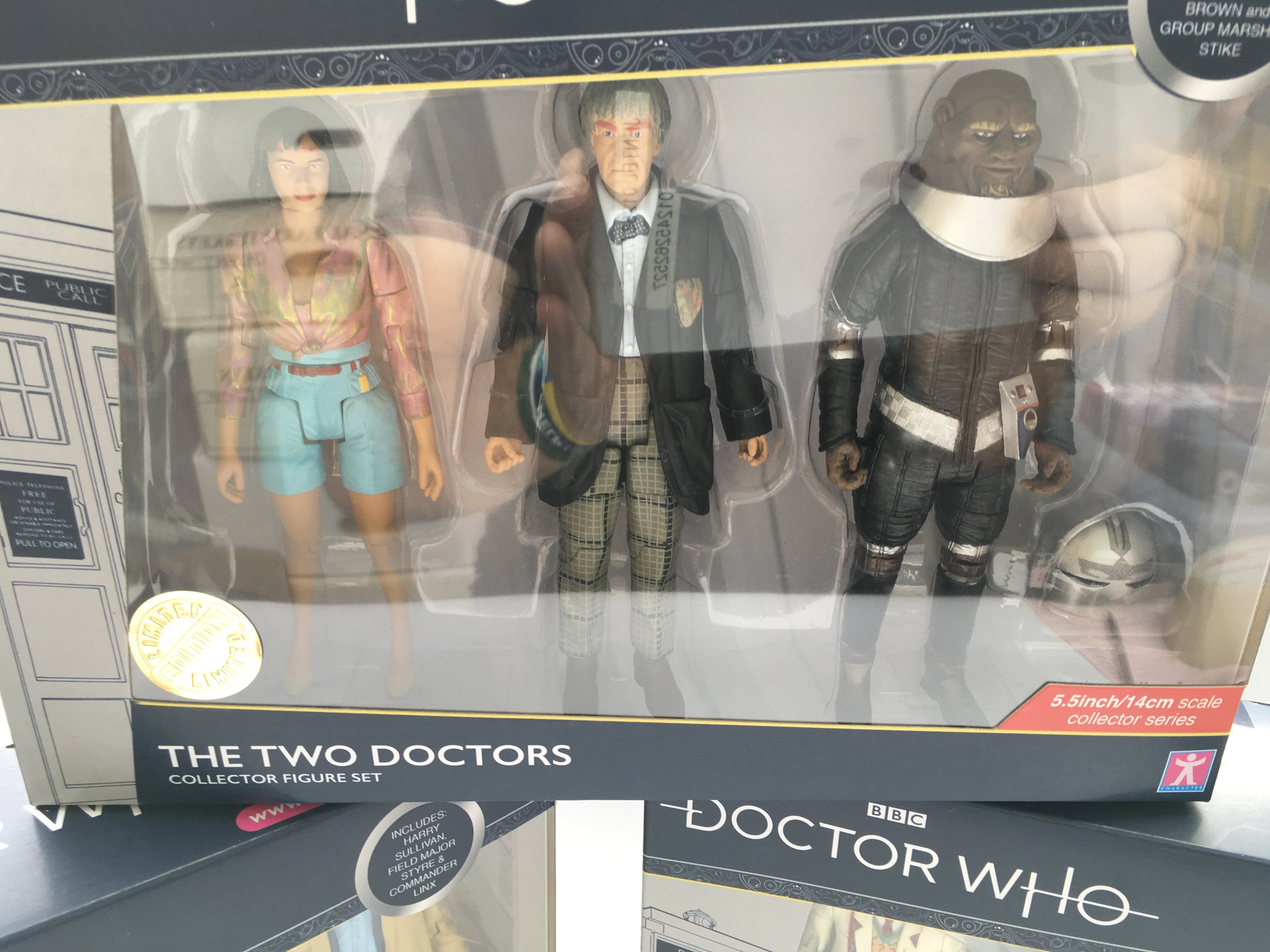 3 X Doctor Who Collector Figure Sets including The - Image 4 of 4