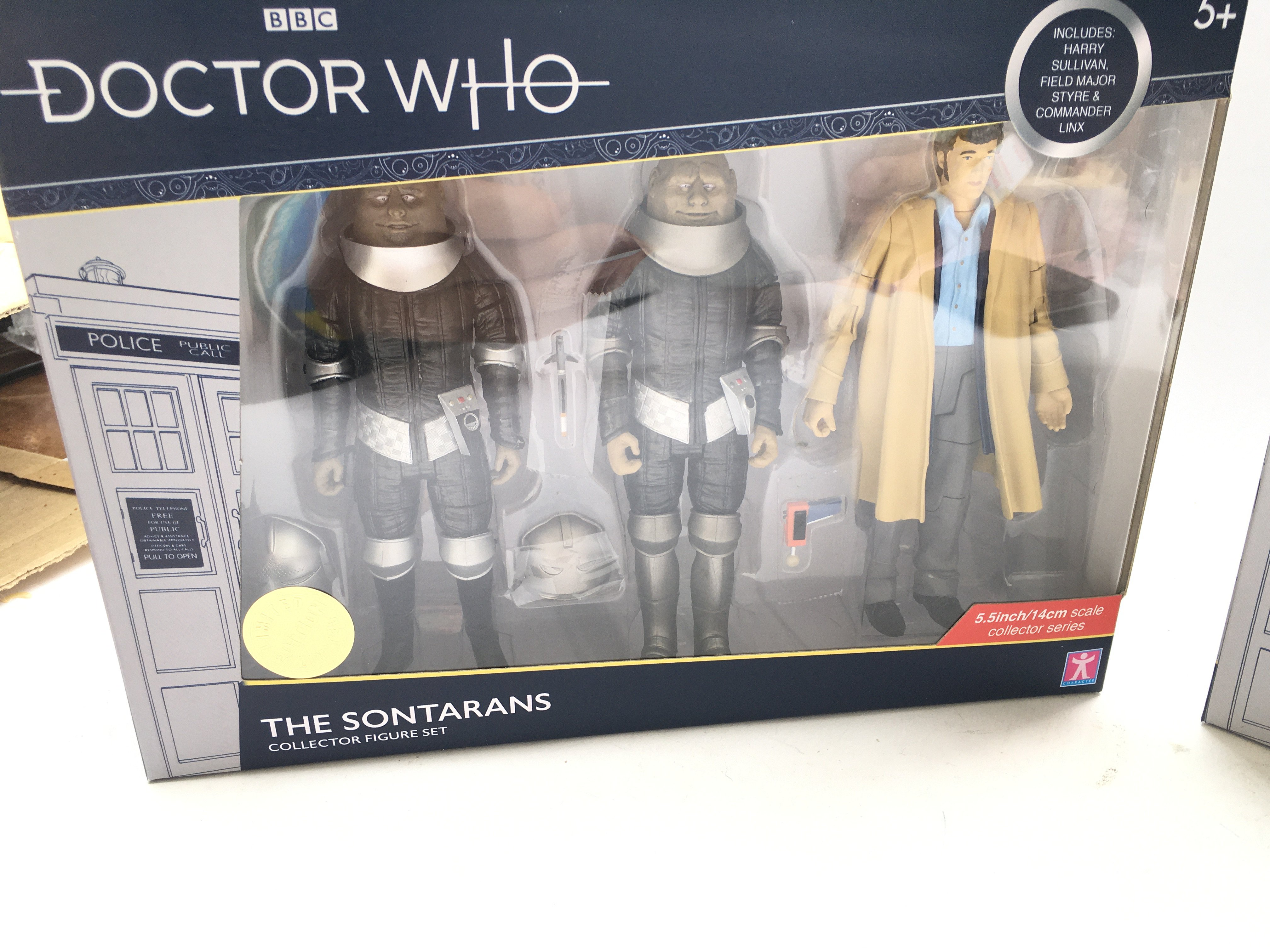 3 X Doctor Who Collector Figure Sets including The - Image 2 of 4
