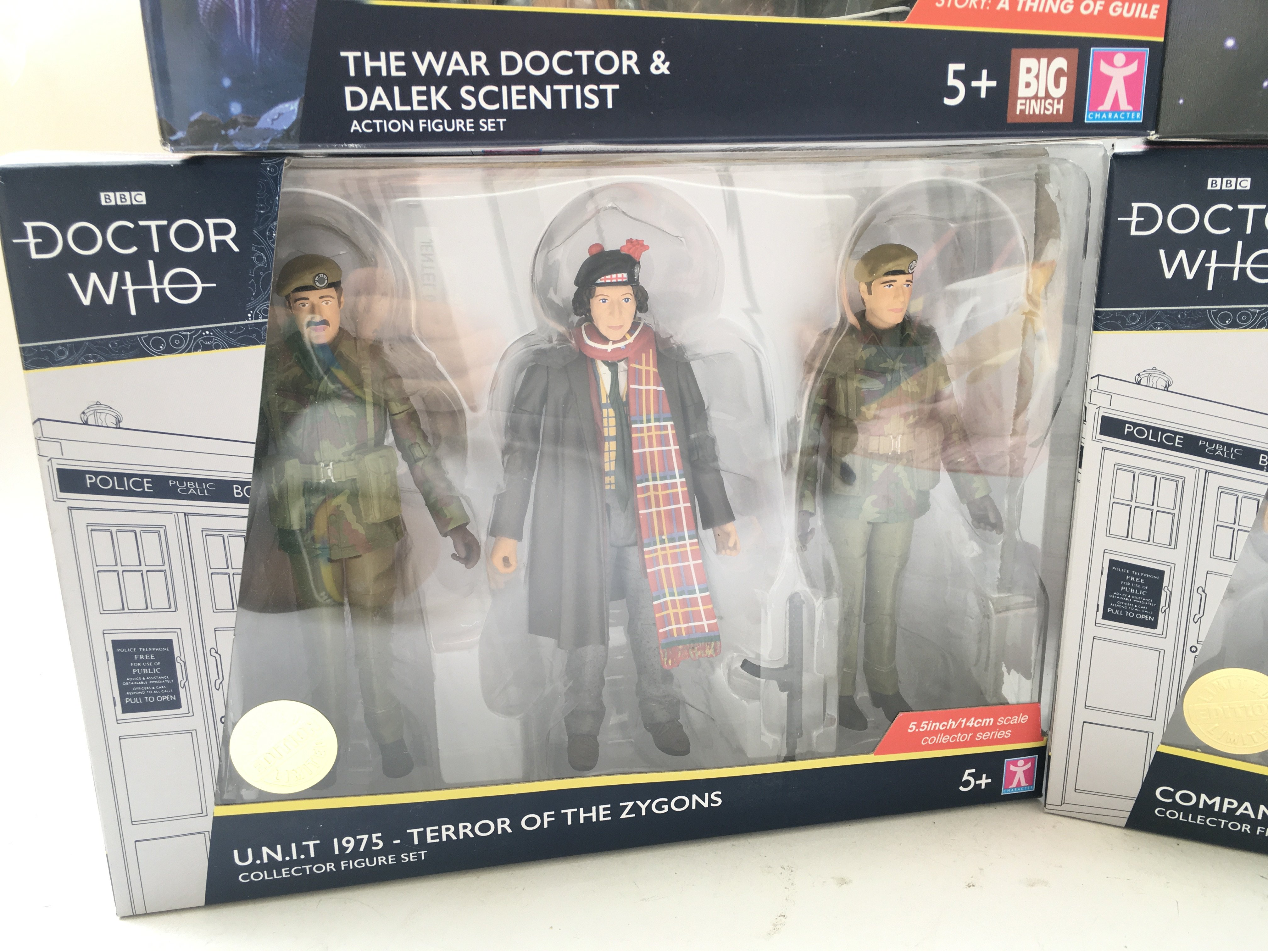 4 x Limited Editions Doctor Who Figure sets. Inclu - Image 2 of 5