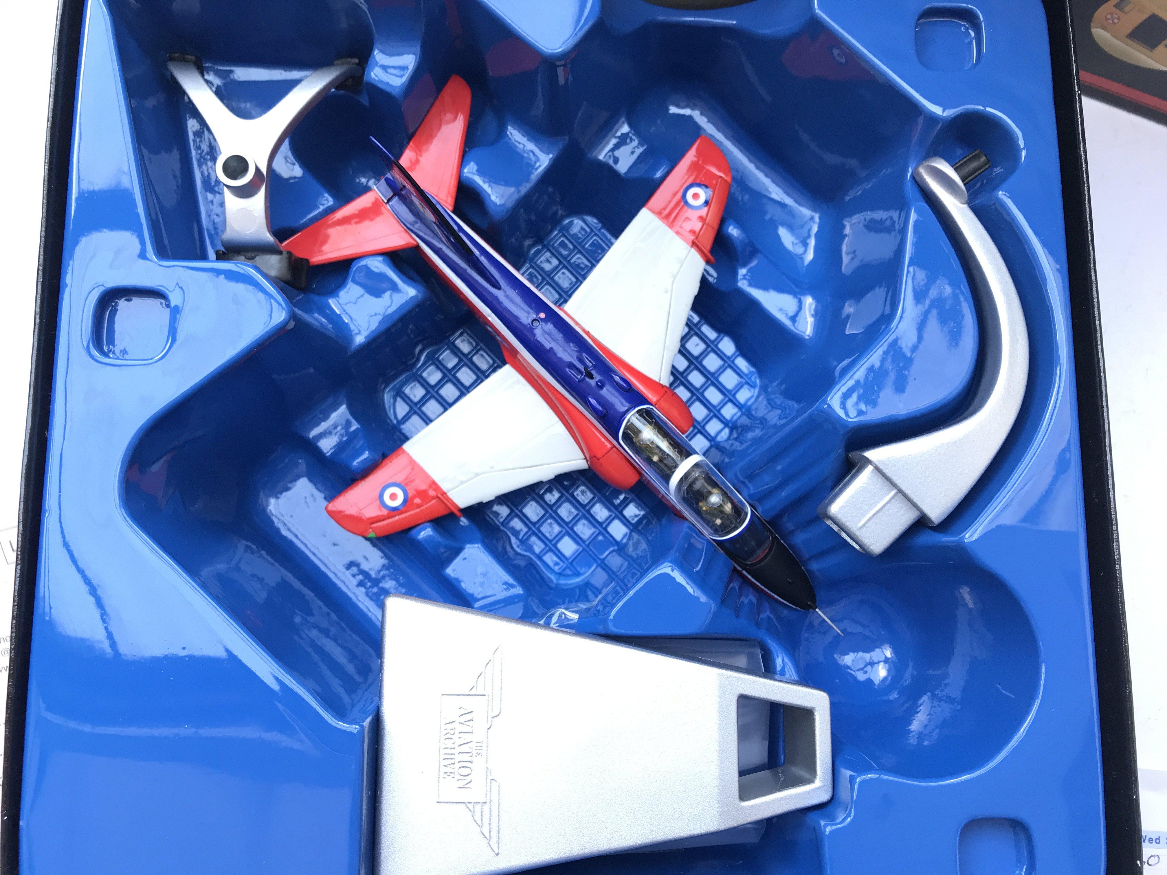 A Boxed Corgi British Areospace Hawk #AA36002 and - Image 2 of 3