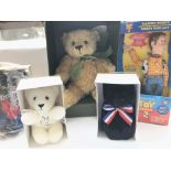 A Collection of Boxed Merrythought Bears including
