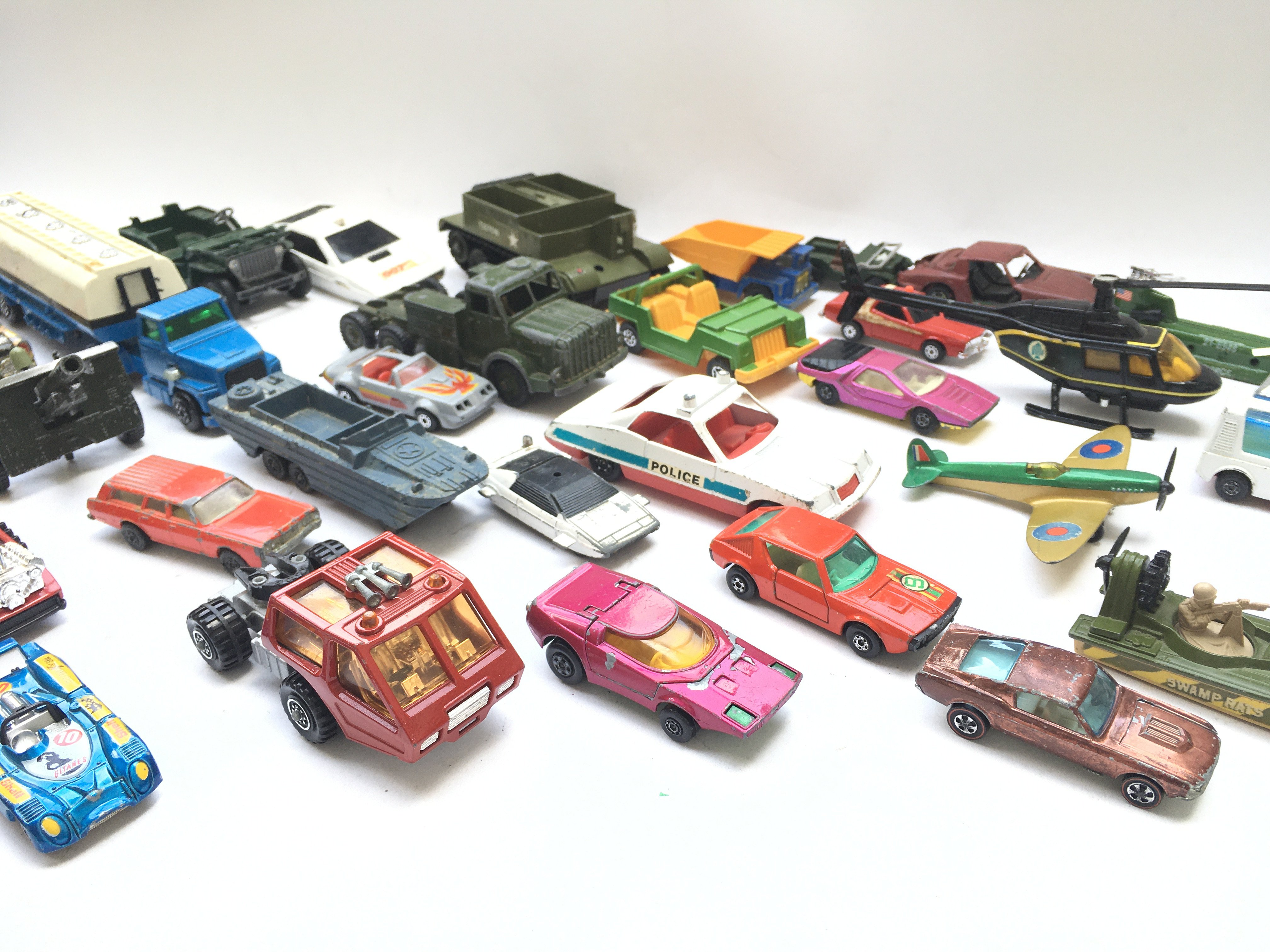 A Collection of Playworn Diecast Vehicle's includi