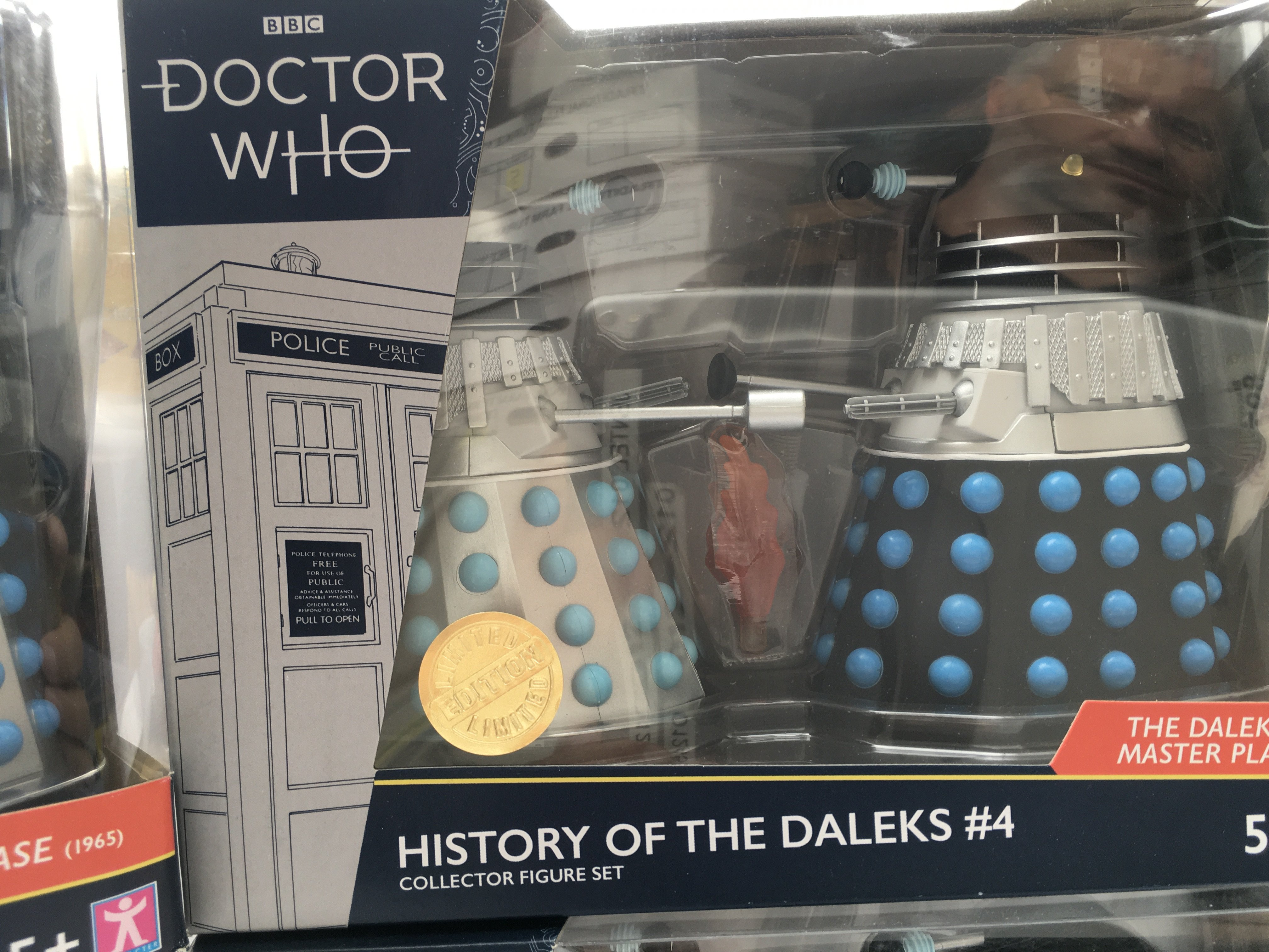 4 X Limited Edition Doctor Who Character Dalek Col - Image 3 of 5