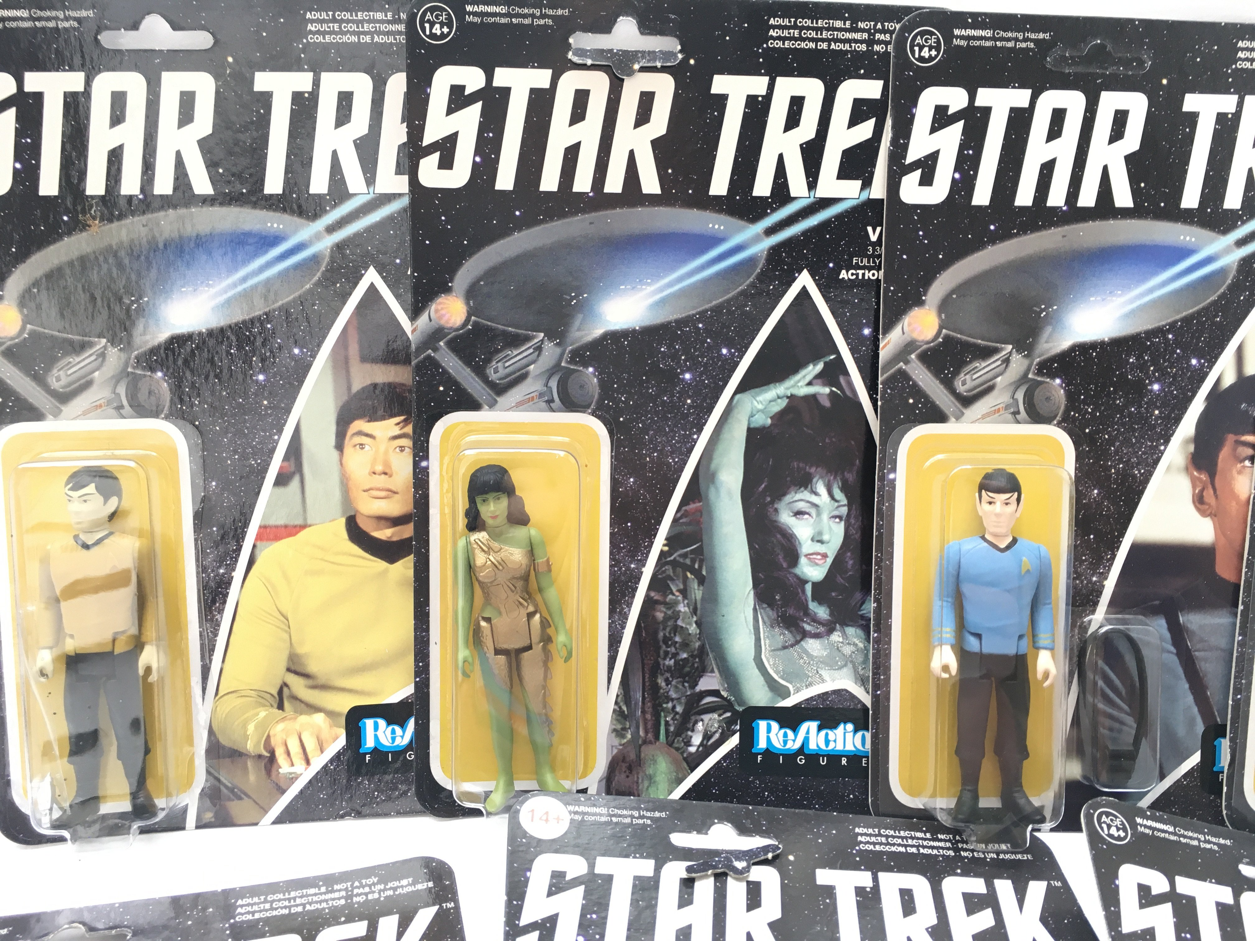 A Collection of ReAction Star Trek Figures. Includ - Image 2 of 5