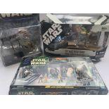 A Star Wars Boxed Jabbas Palace Court Denizens. A