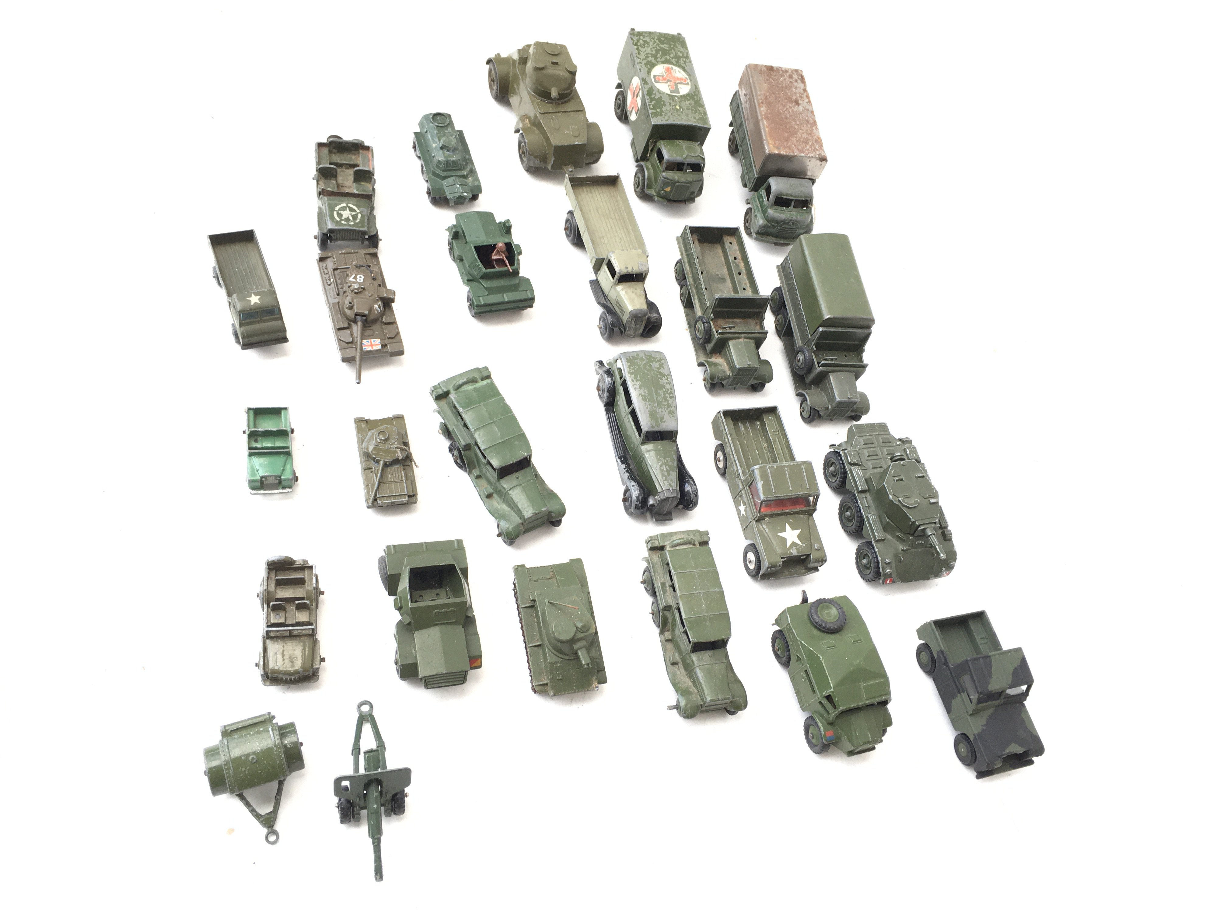 A Collection of Military Vehicles including Husky. - Image 2 of 3