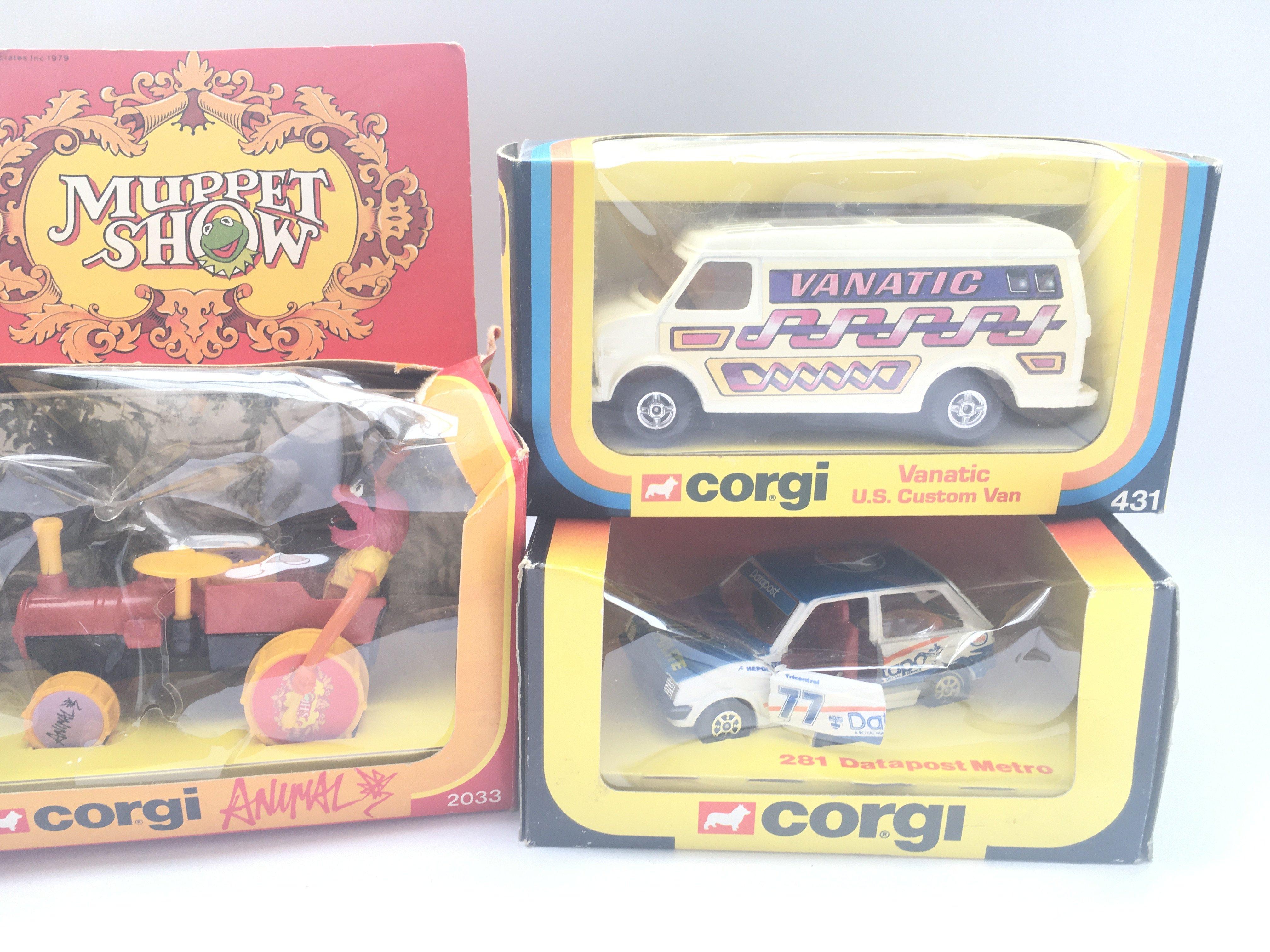 5 boxed Corgi vehicles including Animal #2033 Jagu - Image 3 of 3