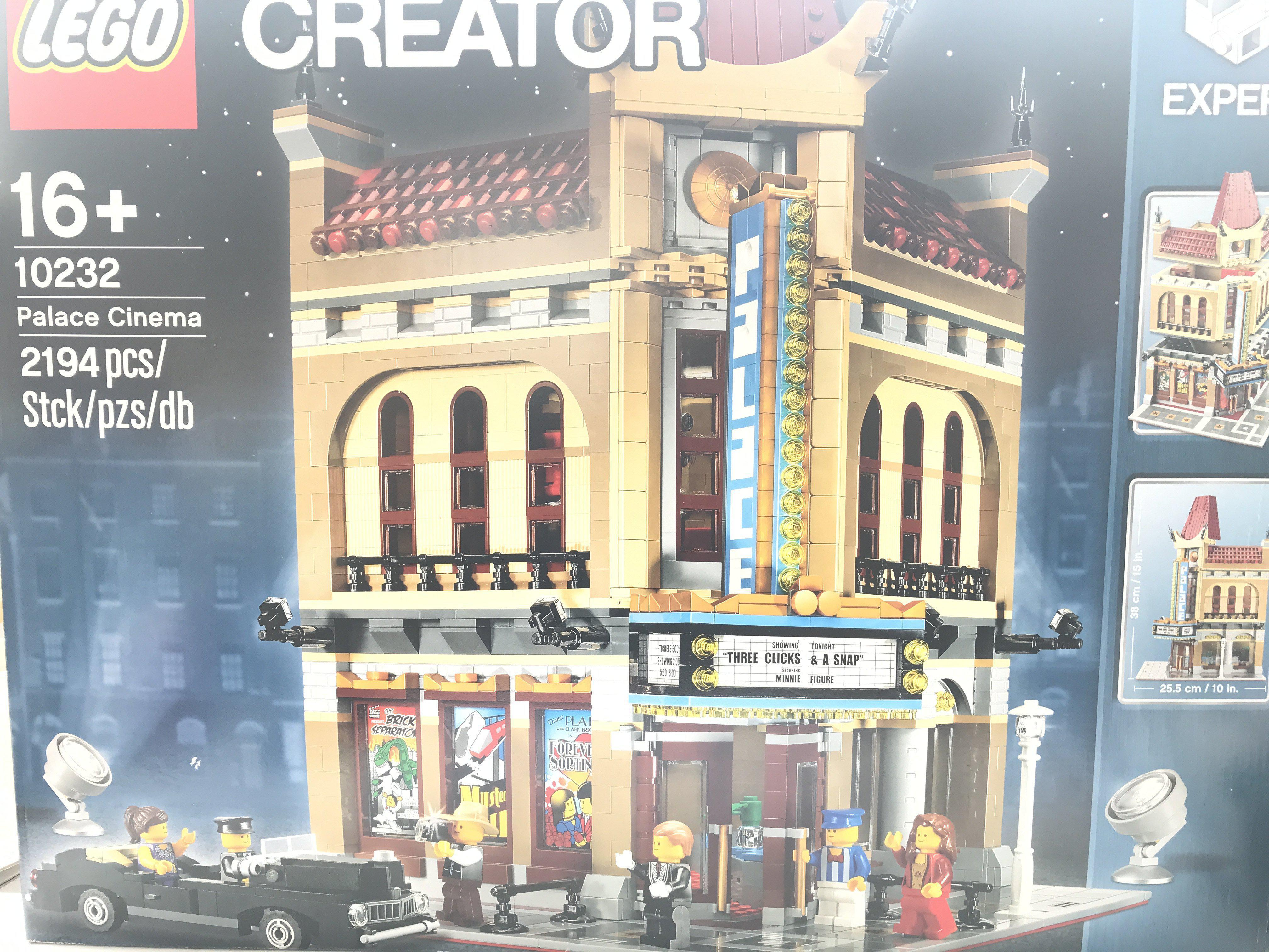 A Boxed Lego Palace Cinema 2194 pcs #10232 complet