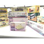A Box Containing a Collection of Boxed corgi Class