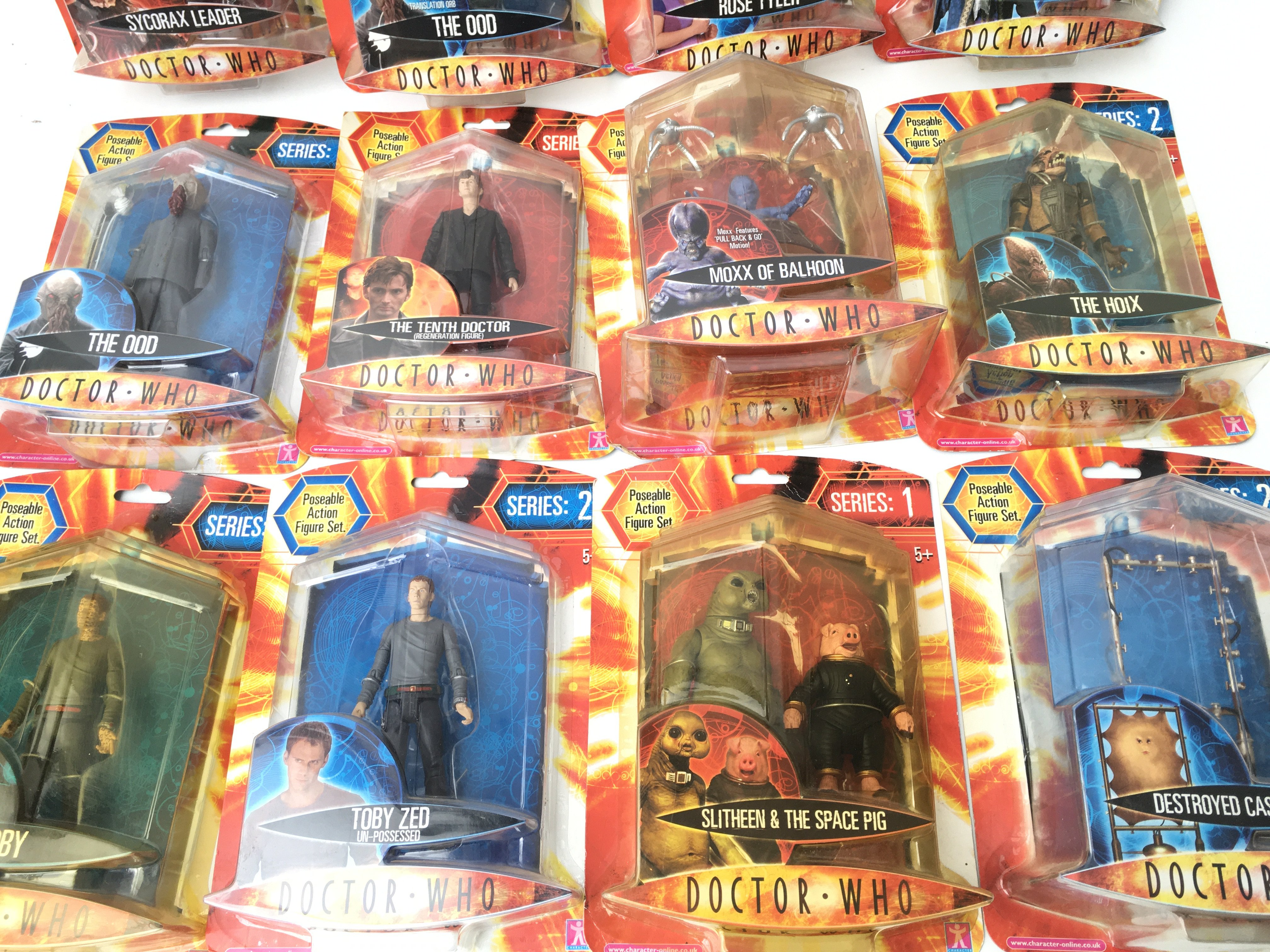 A Collection of Carded Doctor Who Figures. Includi - Image 3 of 3