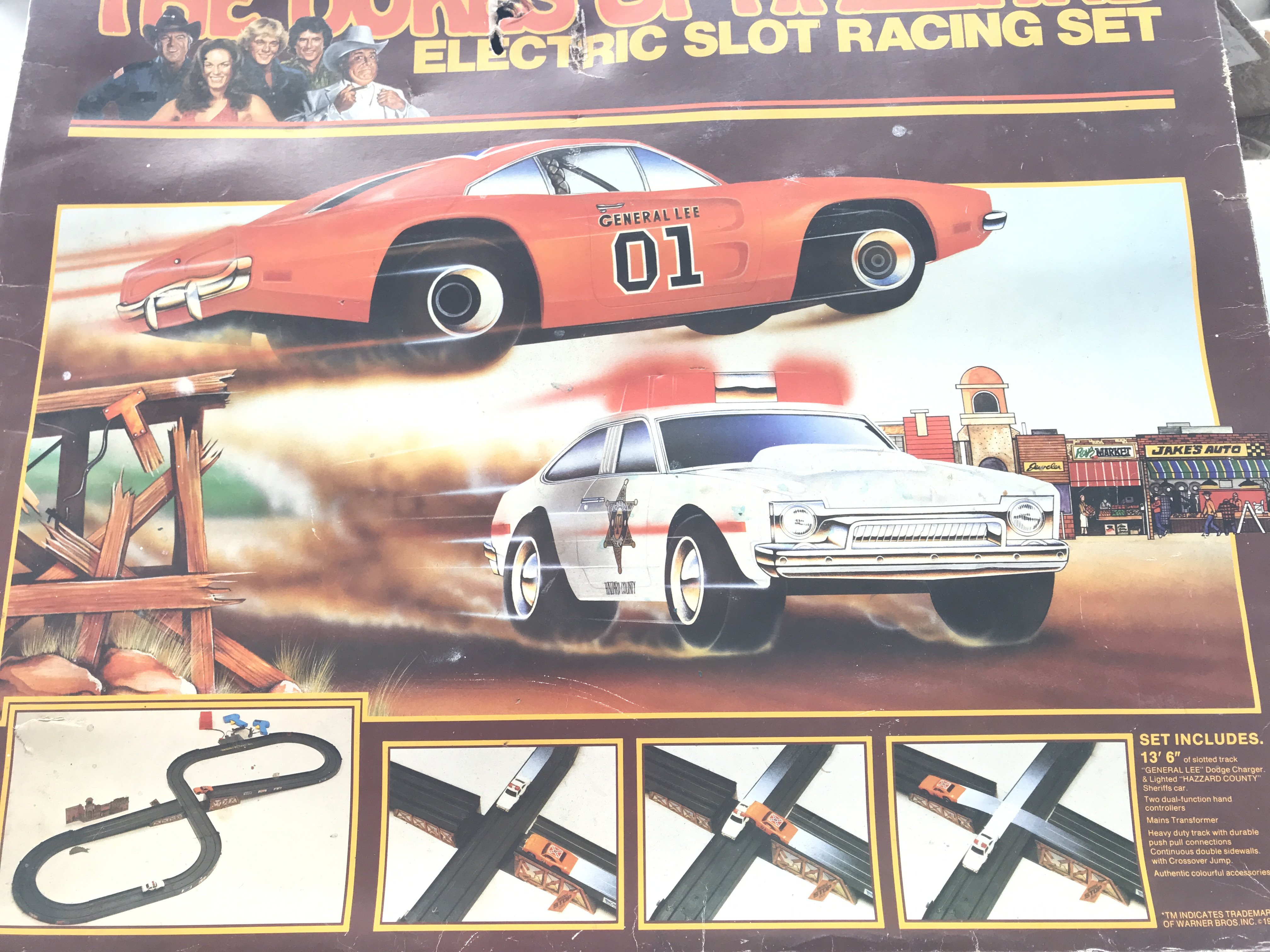 A Boxed Dukes Of Hazzard Electric Slot Racing Set.