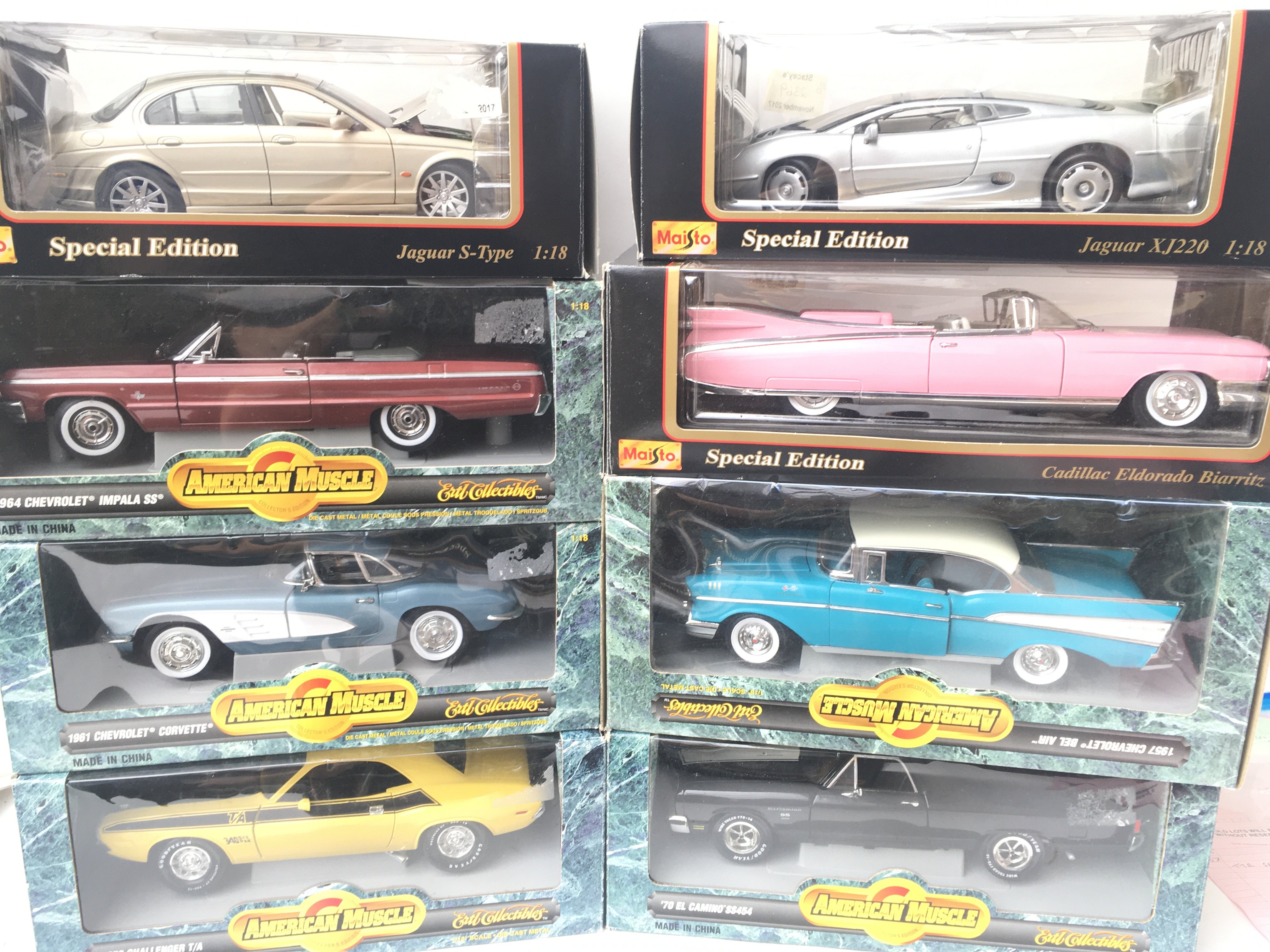 A Collection of American Muscle Cars and Maisto 1: - Image 3 of 3