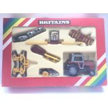 A Boxed Britain's Massey-Ferguson Tractor and Farm