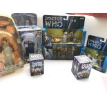 A Collection of Doctor Who Collectables including