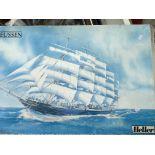 A Heller Model kit do the Preussen Scale 1:150 box