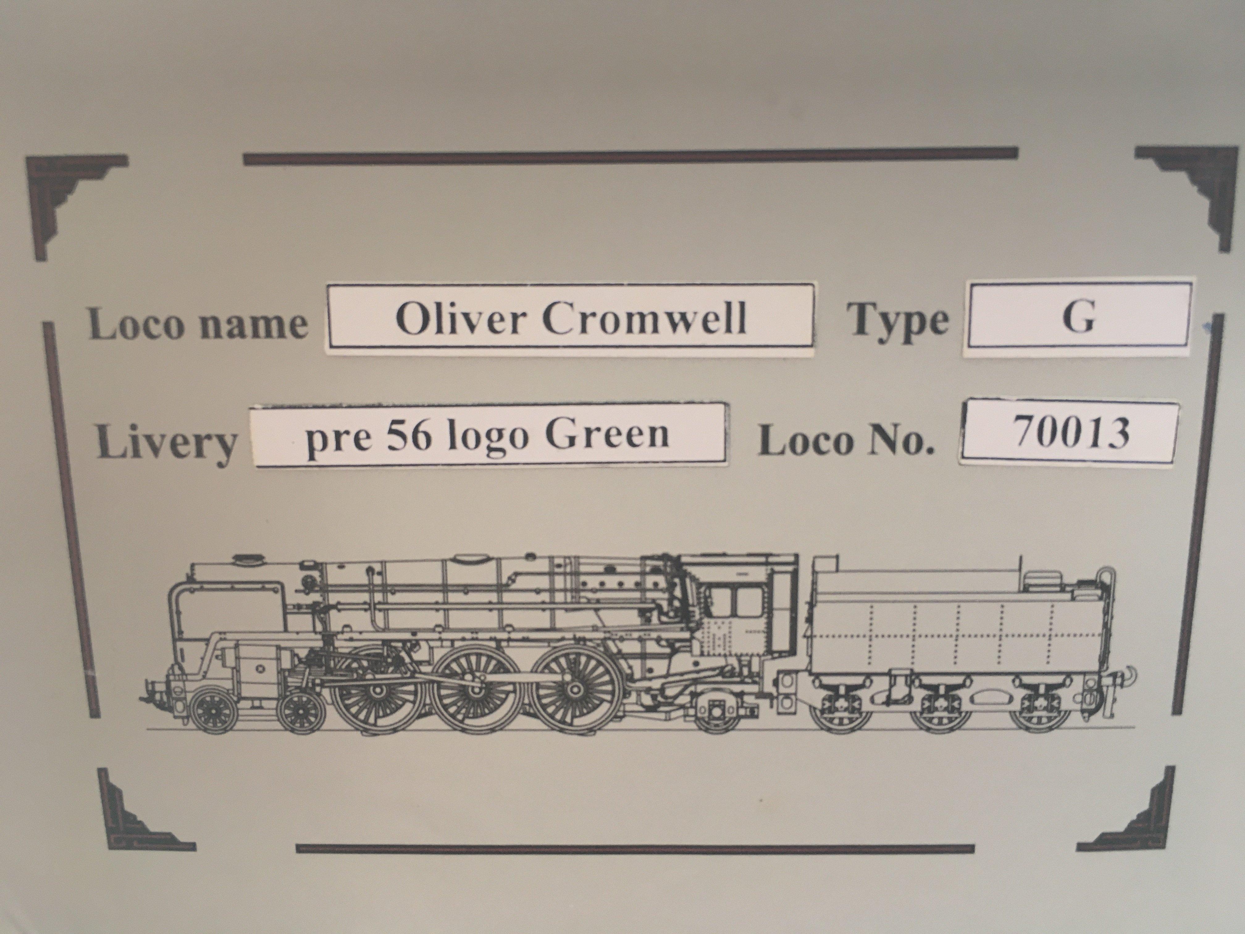 A Ace Trains 0 Gauge Britannia Class Locomotive. B - Image 3 of 3