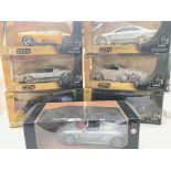 6 X Jada Toys and a Motor Max Vehicles. Scale 1:24
