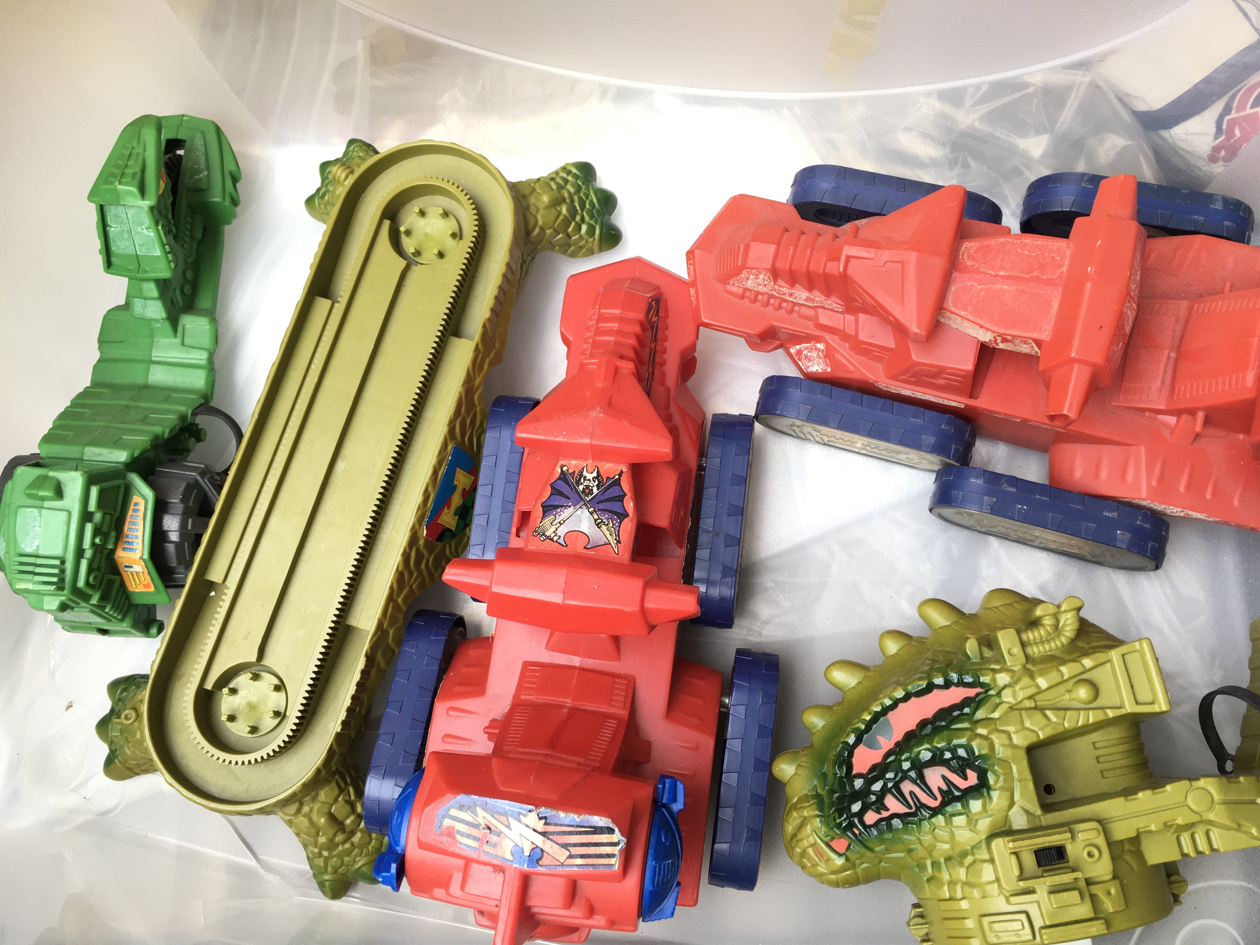 A Collection of Playworn He-Man Figures. Craft and - Image 2 of 2