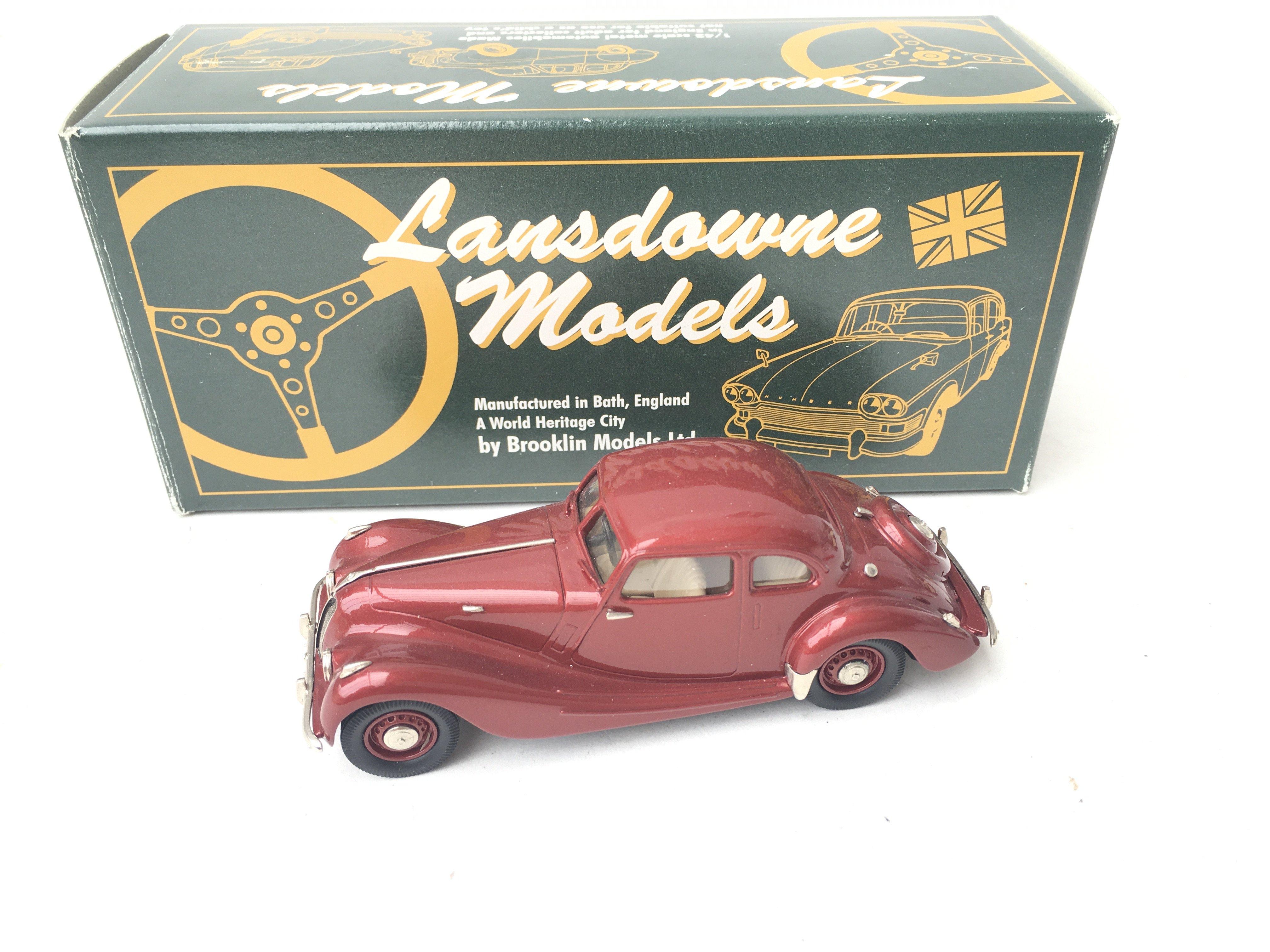 2 X Lansdowne Models. LDM 31 1947 Bristol 400 And - Image 2 of 3