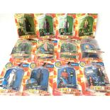 A Collection of Carded Doctor Who Figures. Includi