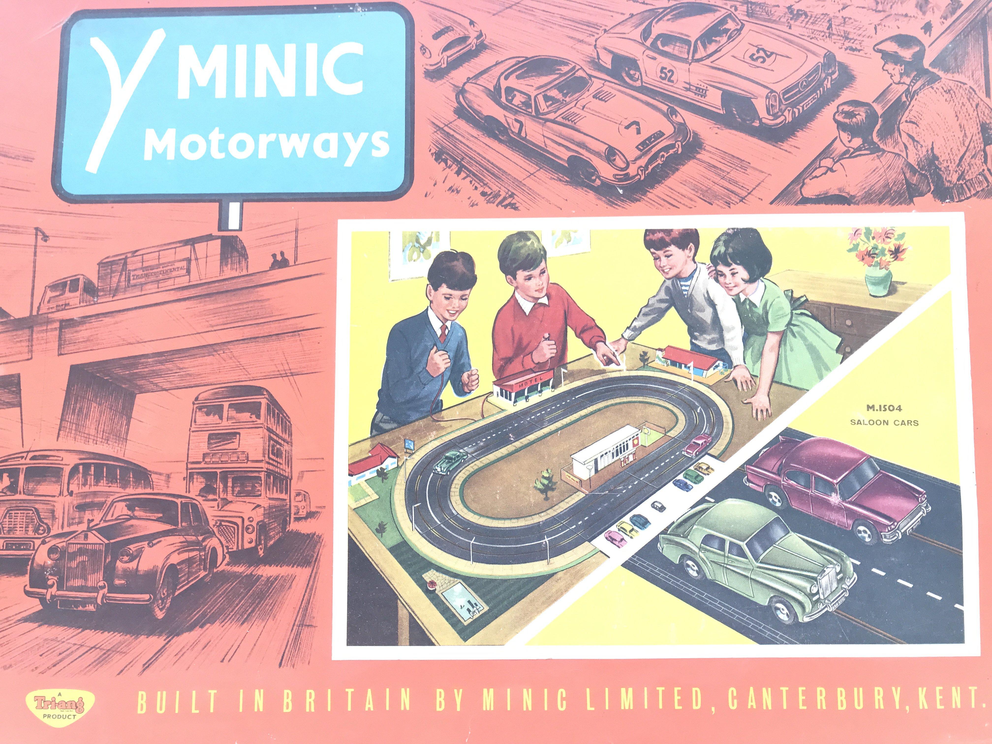 A Boxed Tri-ang Minic Motorways Set #M.1504.