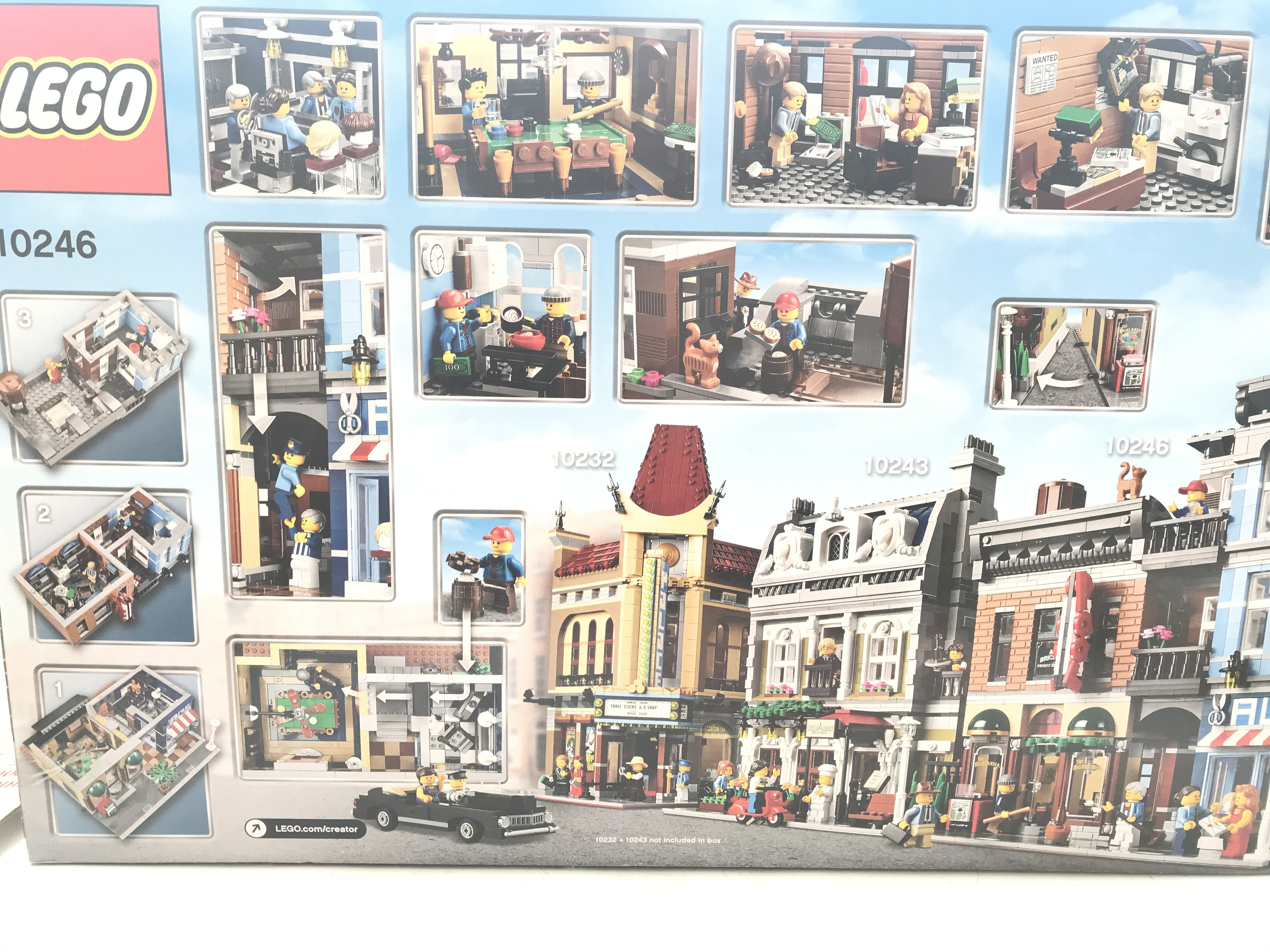 A Boxed Lego Detectives Office 2262 pcs #10246. - Image 2 of 2
