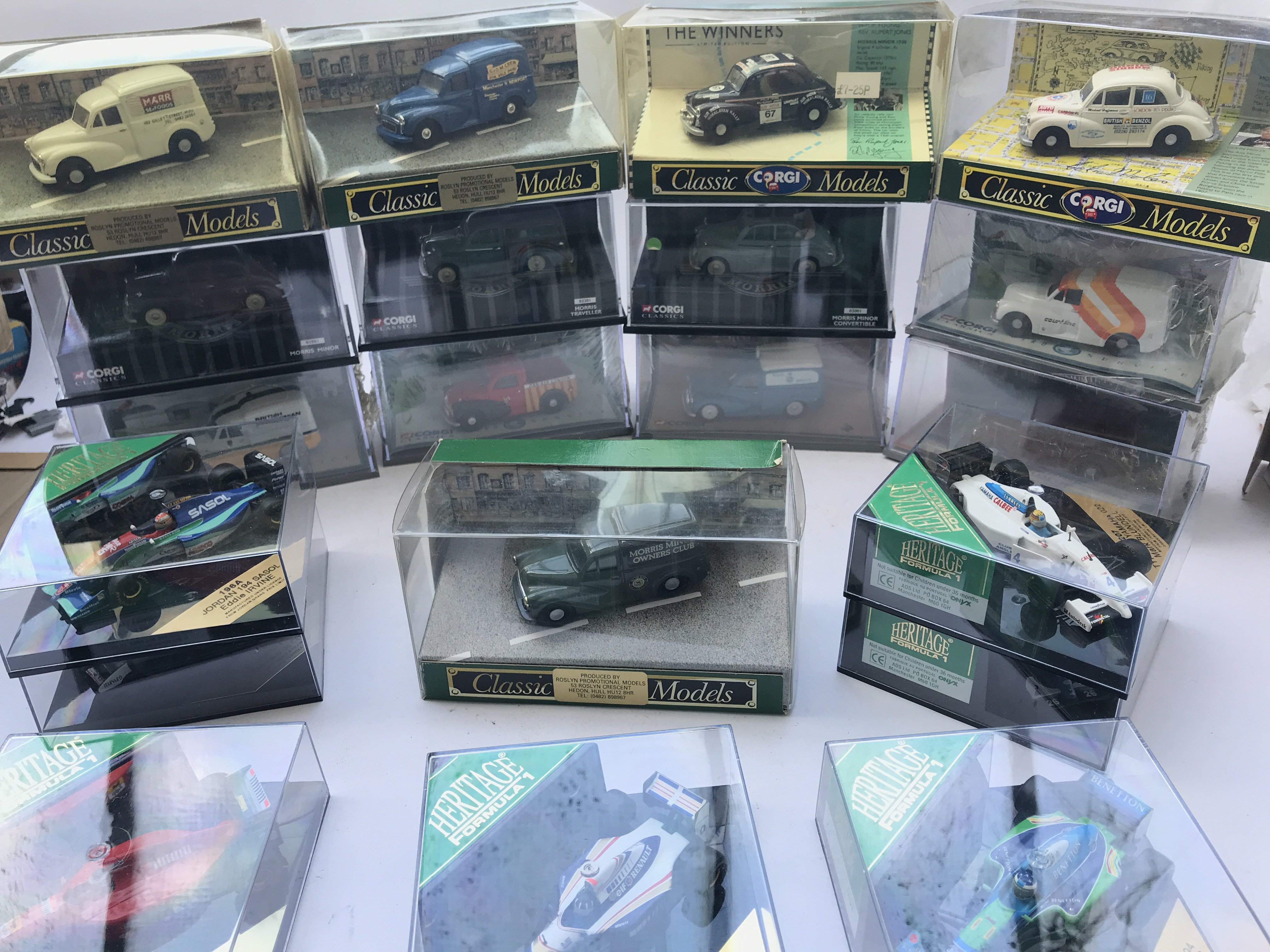 A Collection of Corgi Classic Morris Minors and a
