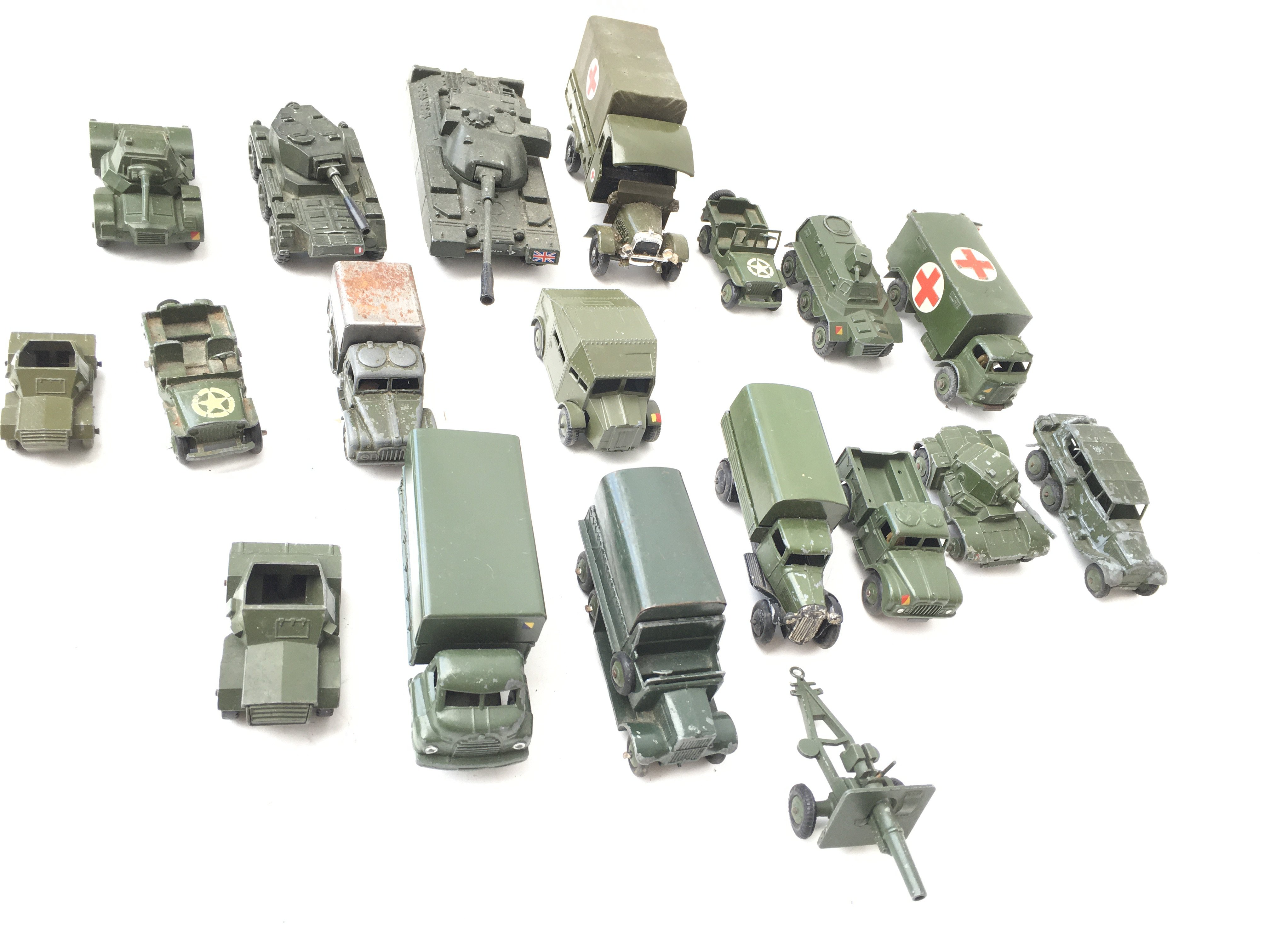 A Collection of Military Die Cast Vehicles includi - Image 2 of 3