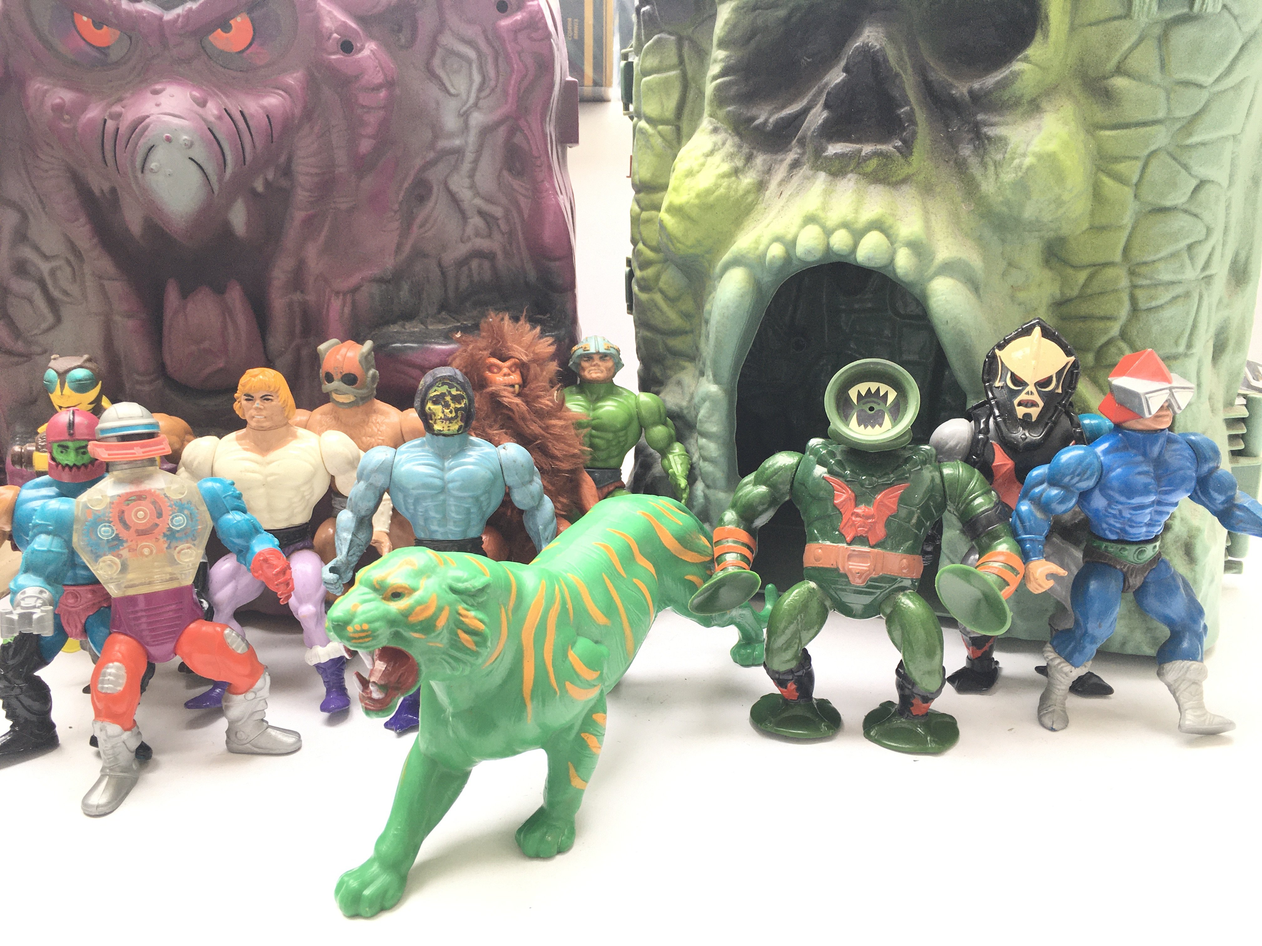 A Collection of Playworn He-Man Figures. Craft and