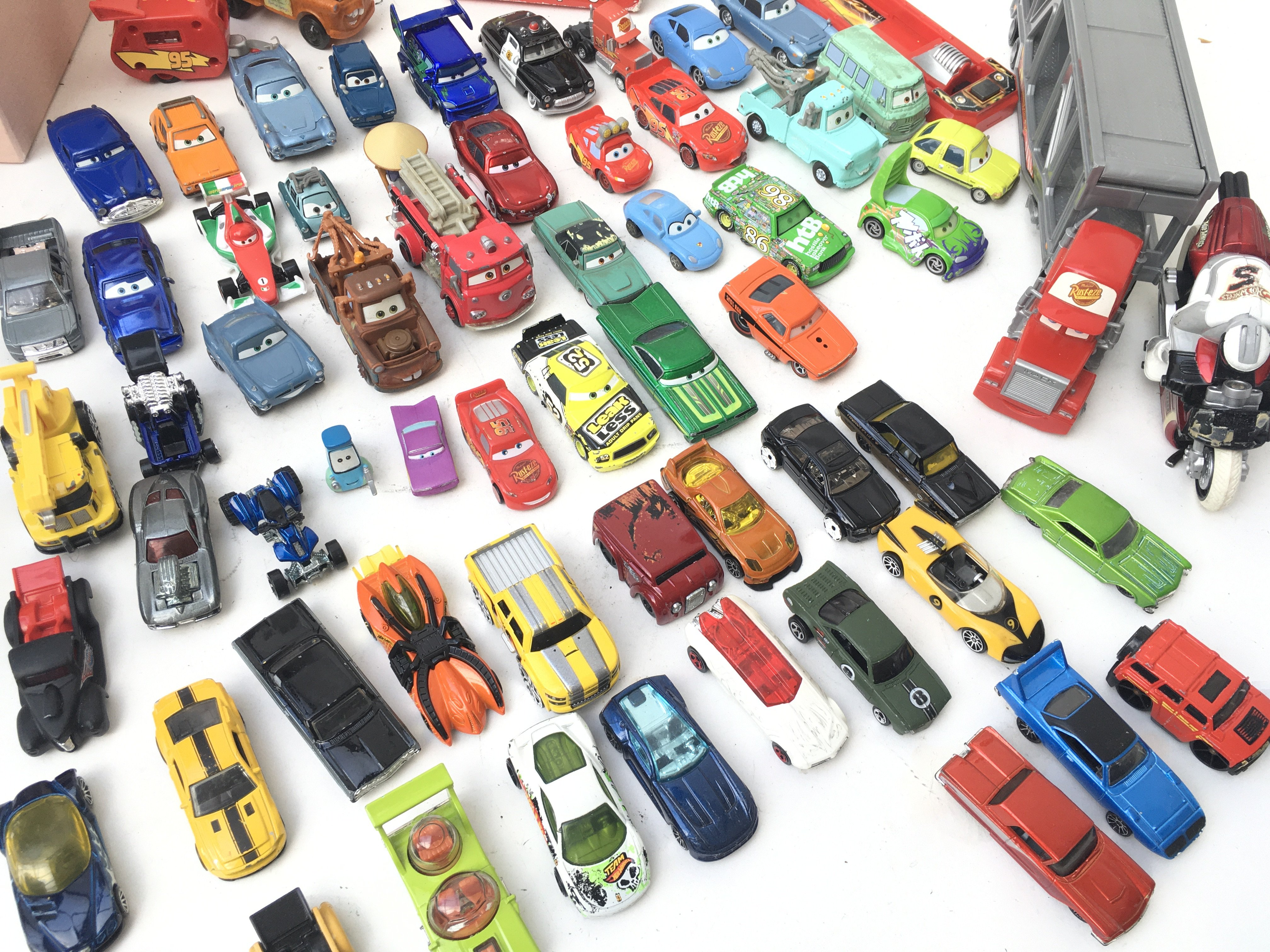A Collection of Disney Cars and Hotwheels. - Image 2 of 2