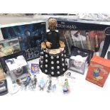 A Collection of Doctor Who. Star Wars. Tin Tin fig