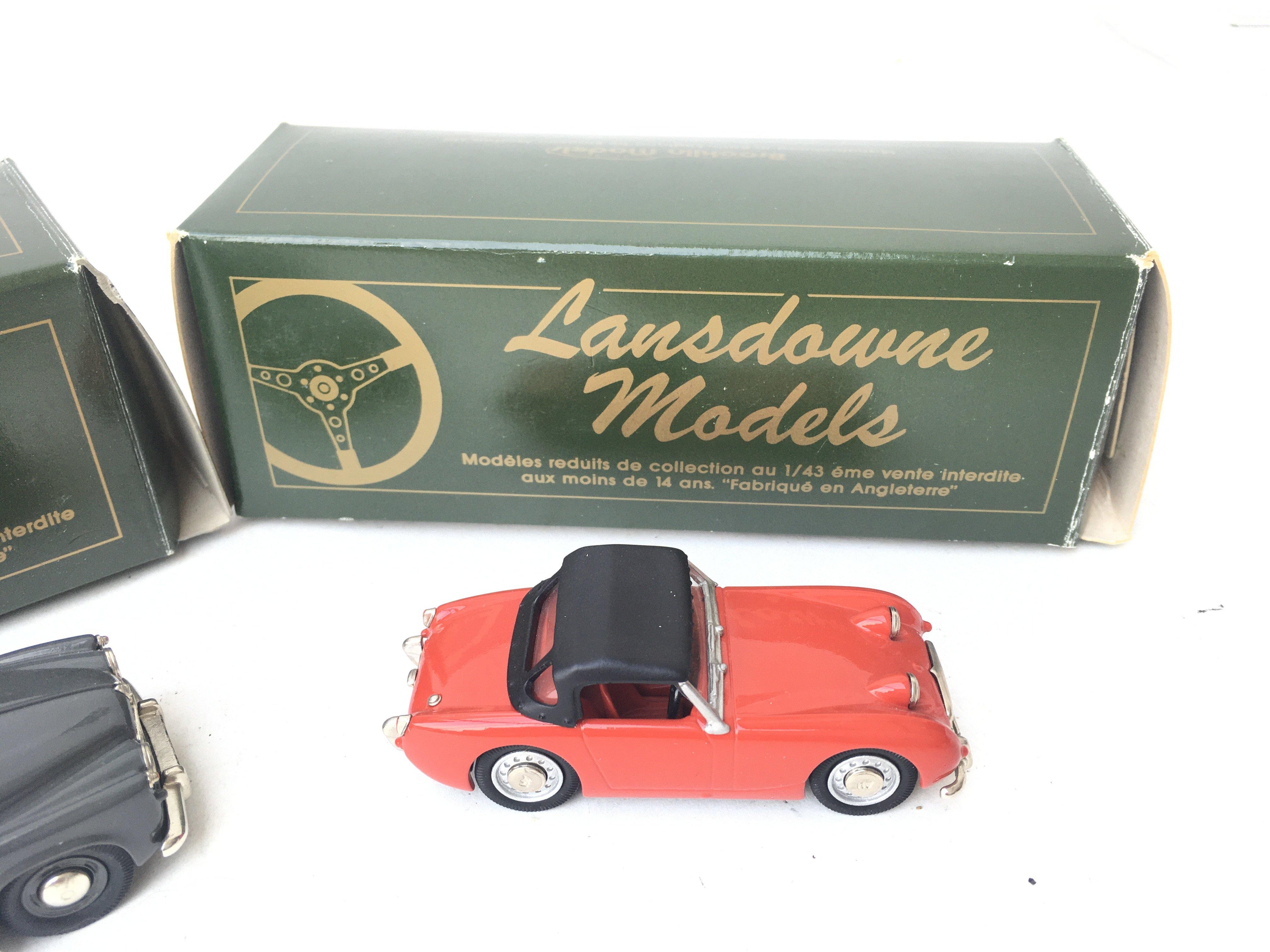 2 X Lansdowne Models including LDM.5 1957 Rover P4 - Image 3 of 3