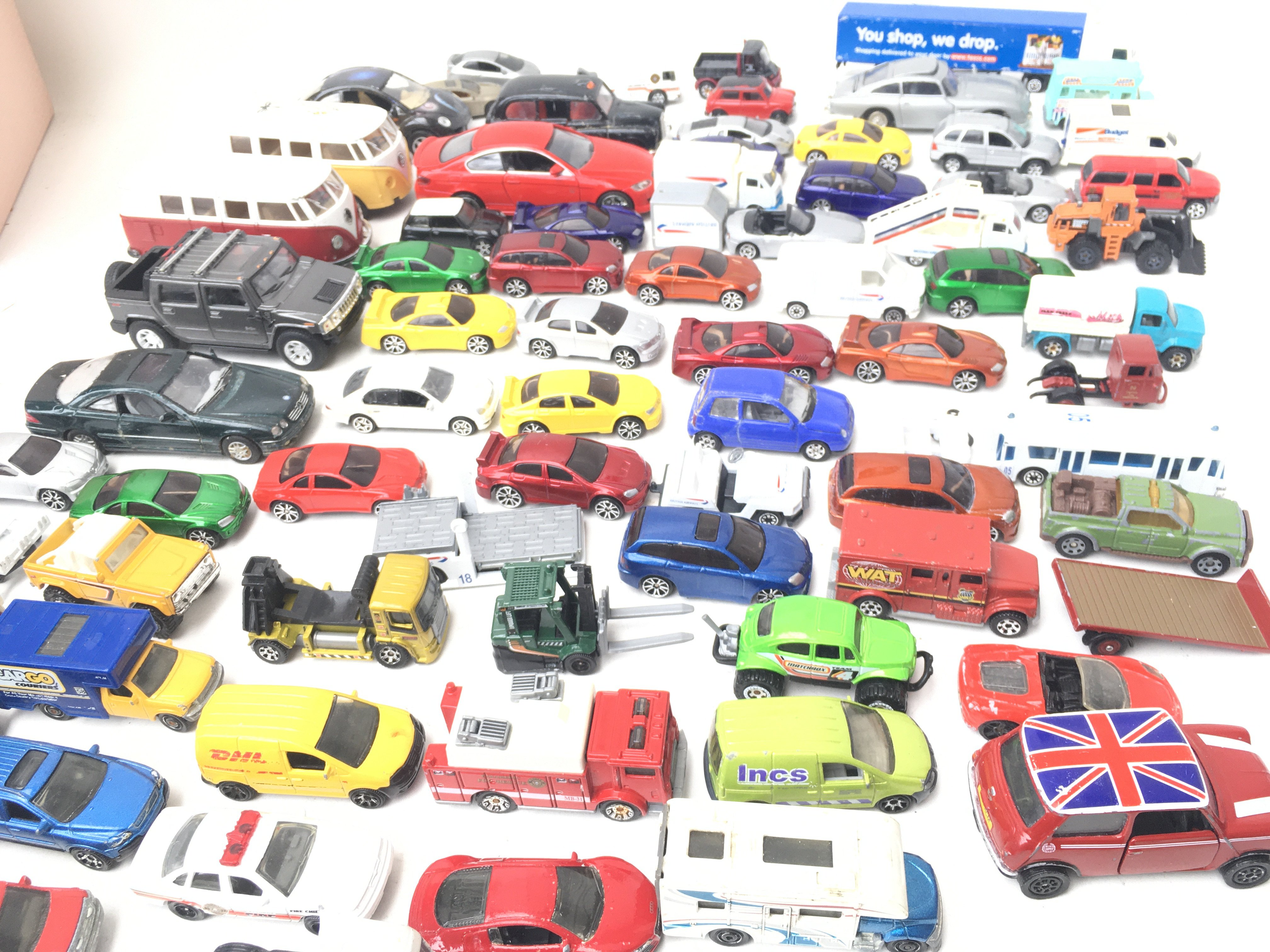 A Collection of Die- Cast vehicle's including Matchbox.Corgi and Others.