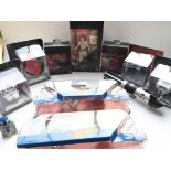 A Collection of Star Wars Black Series Figures. Ho