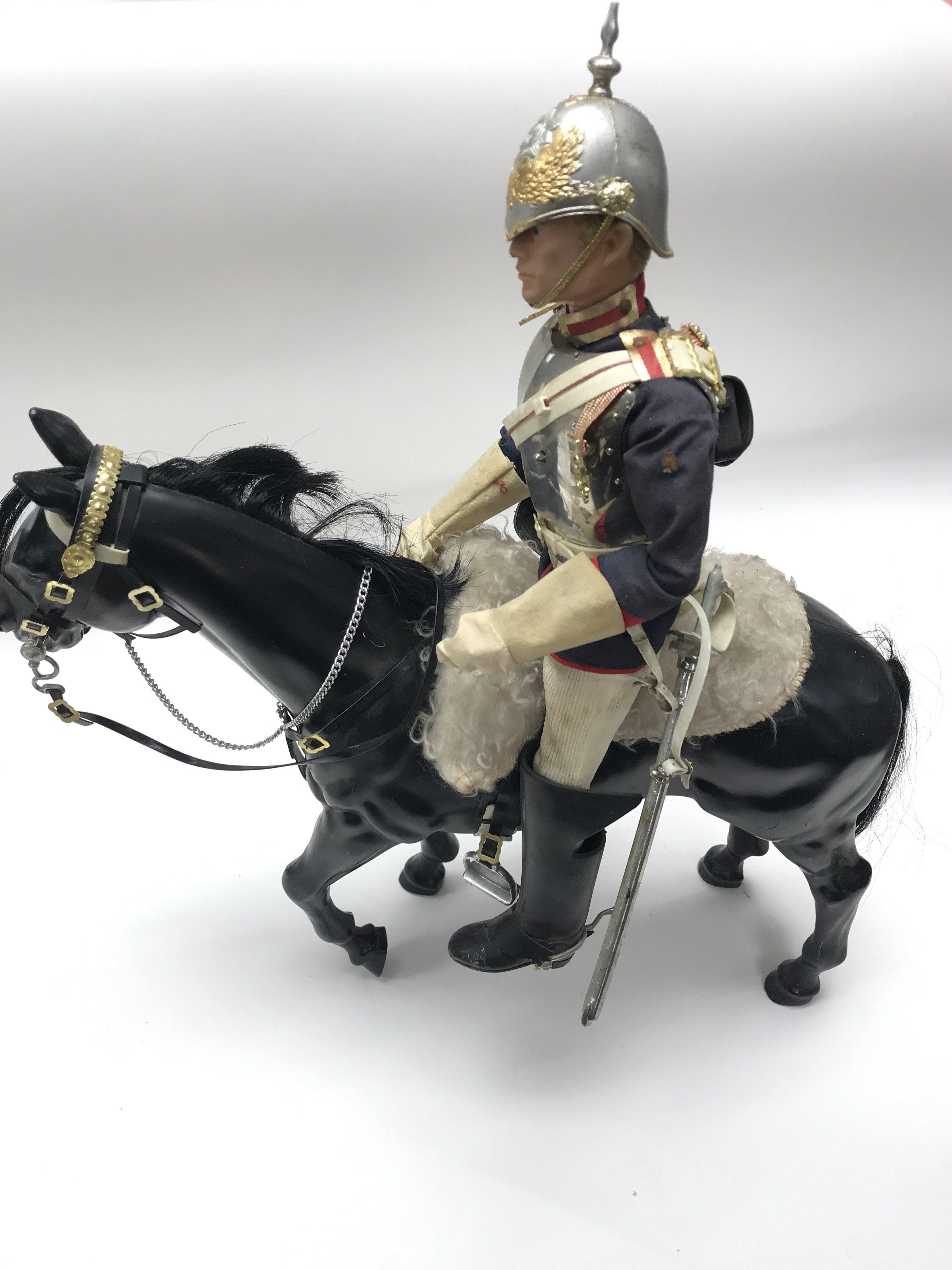 A Vintage Action Man in Blues and Royals Uniform,