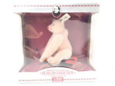 A Boxed Steiff Reproduction Museum-Collection Teddy Rose.