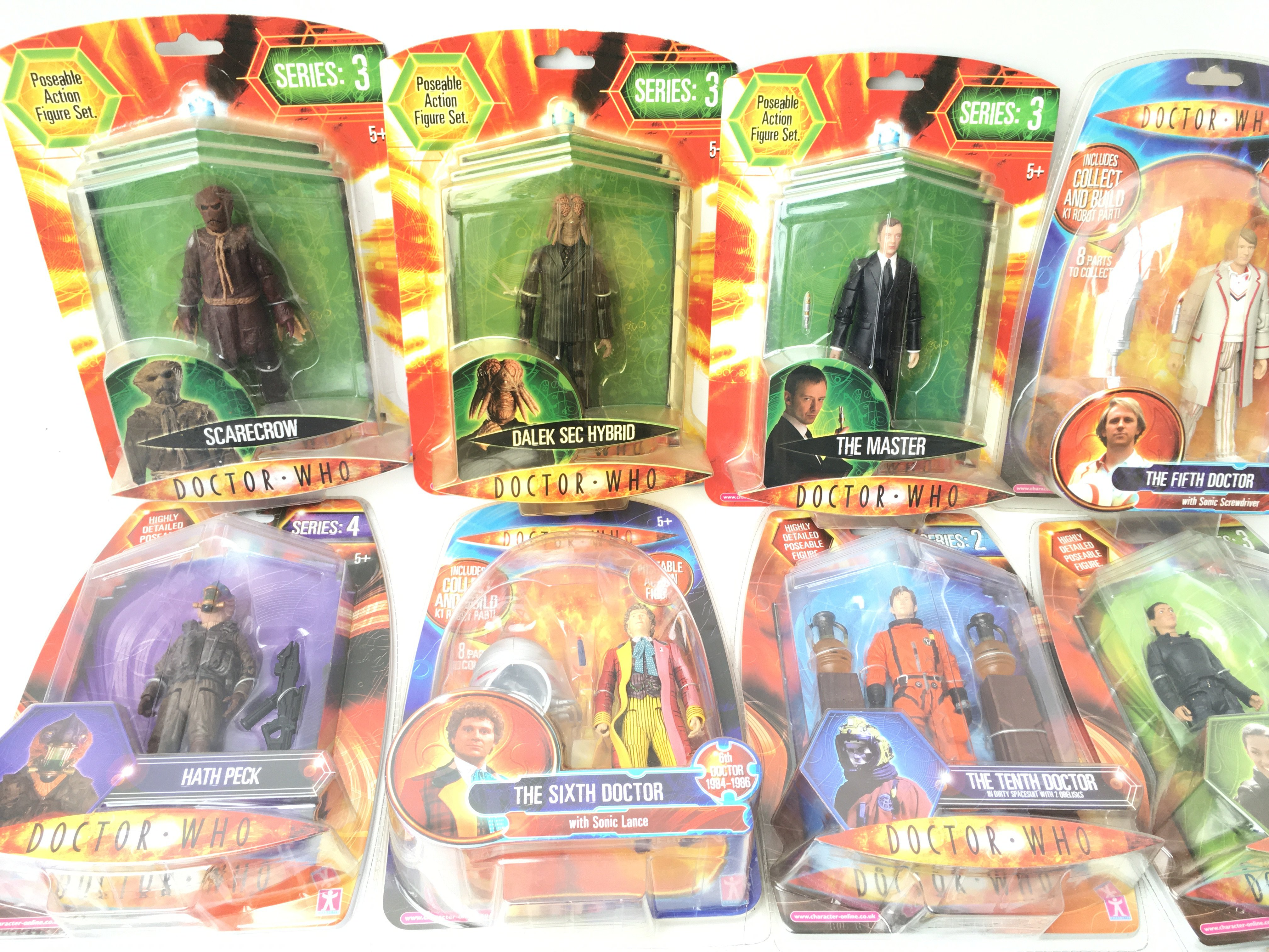 A Collection of Carded Doctor Who Figures.includin - Image 3 of 4