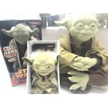 A Collection of Star Wars Yodas including Call Upo
