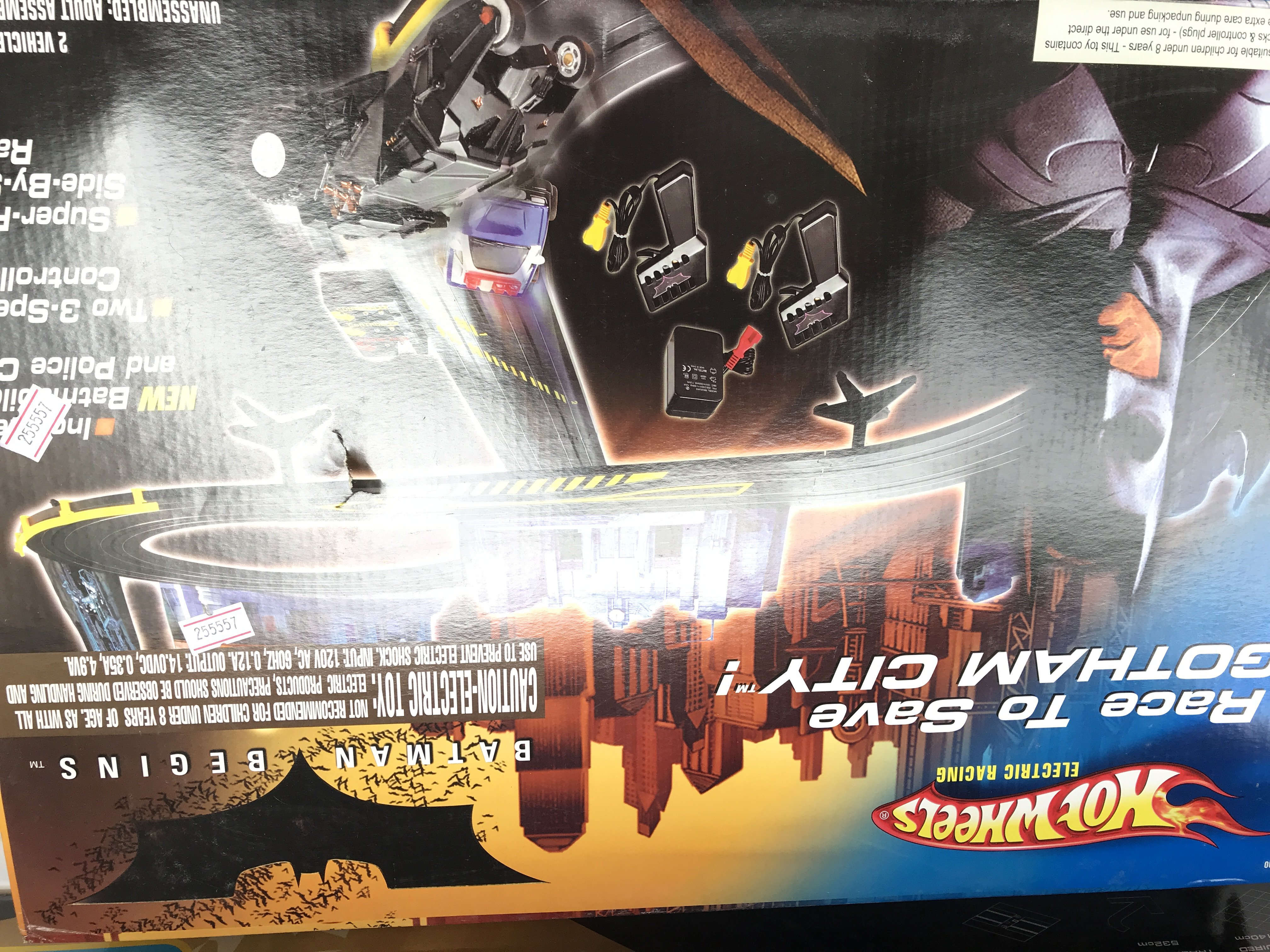 A Batman Begins Scalextric Set (Sealed) and a Hotw - Image 2 of 3