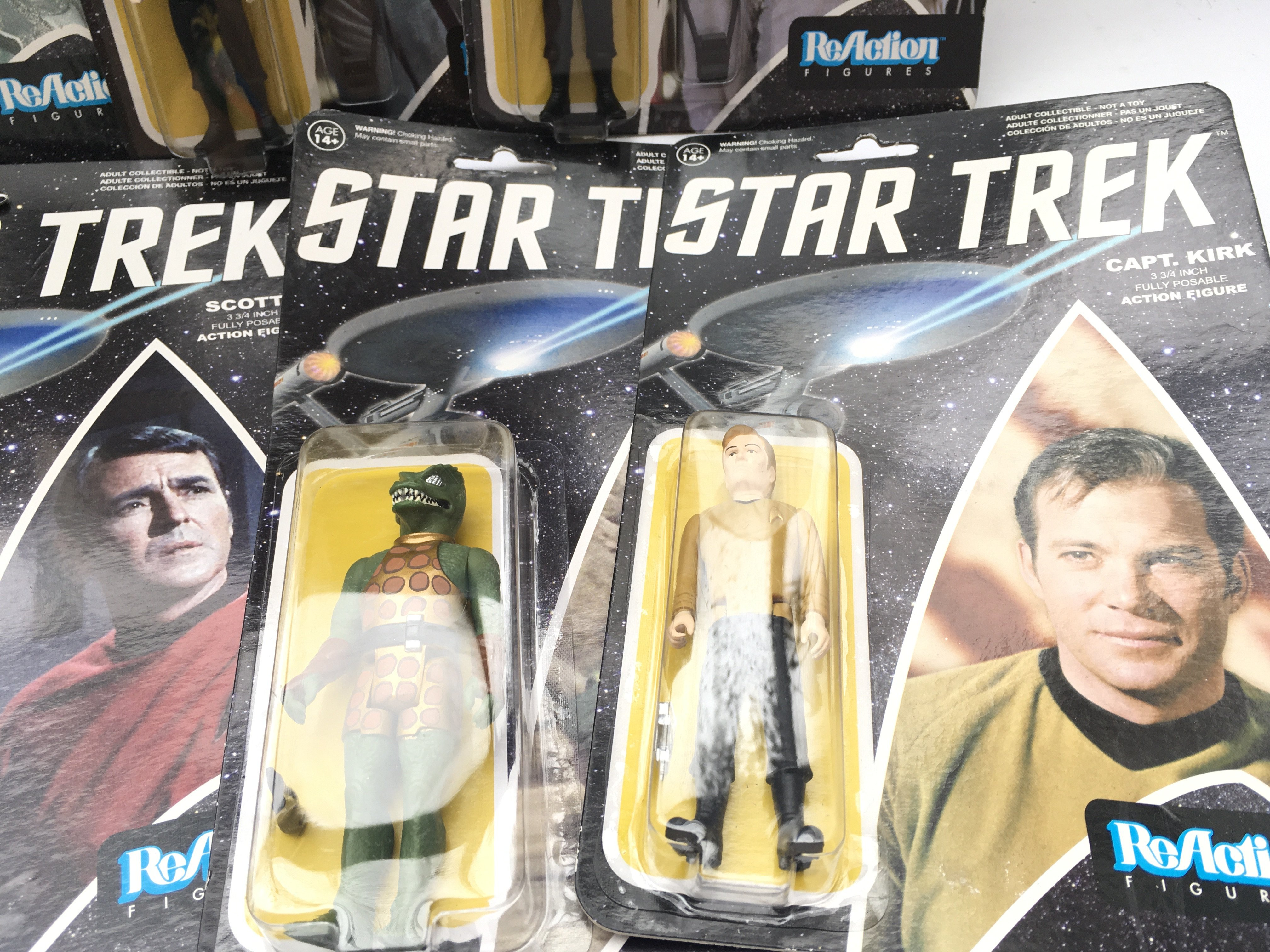A Collection of ReAction Star Trek Figures. Includ - Image 5 of 5