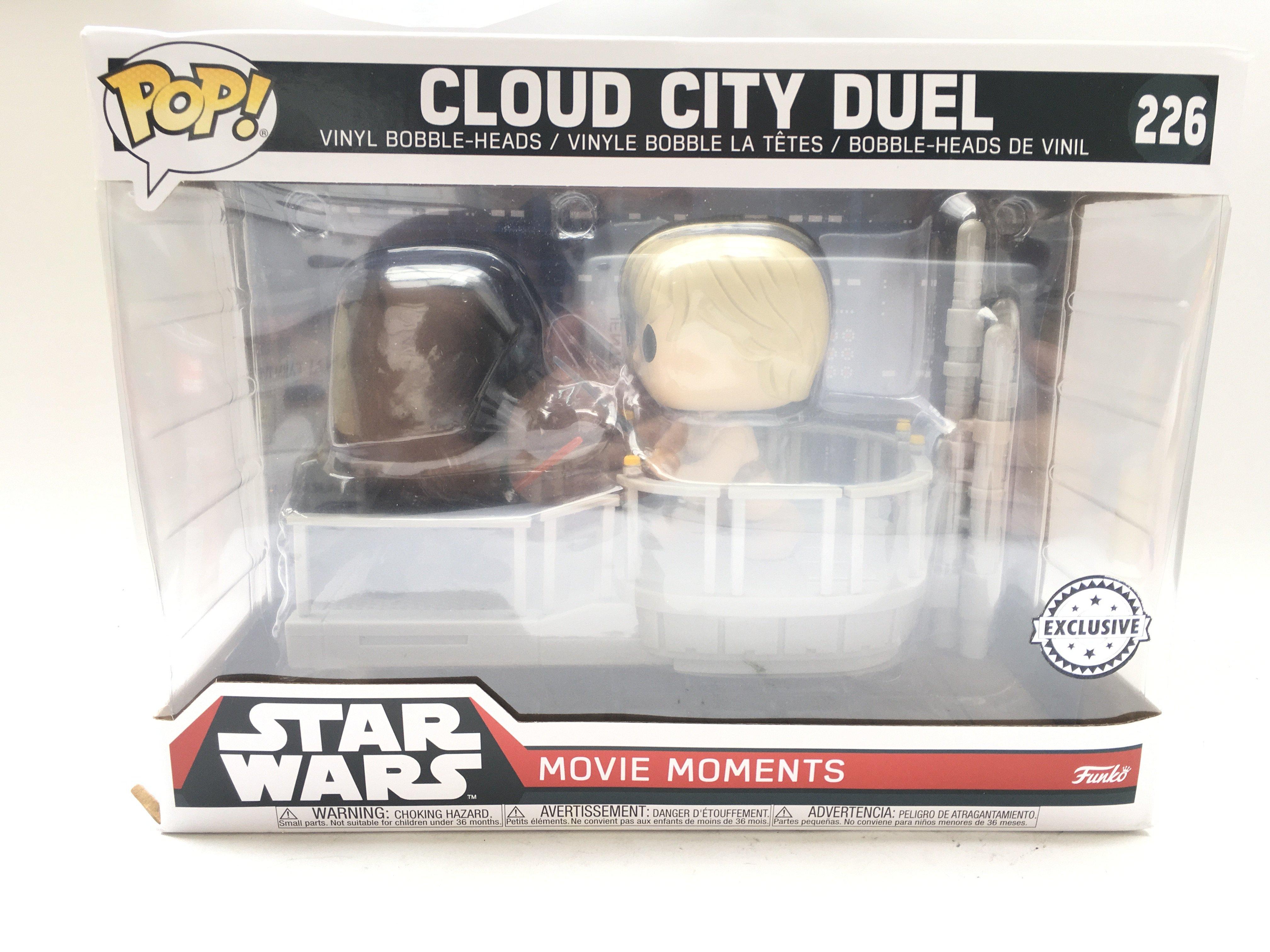 A Boxed Funko POP Star Wars Movie Moments Cloud Ci
