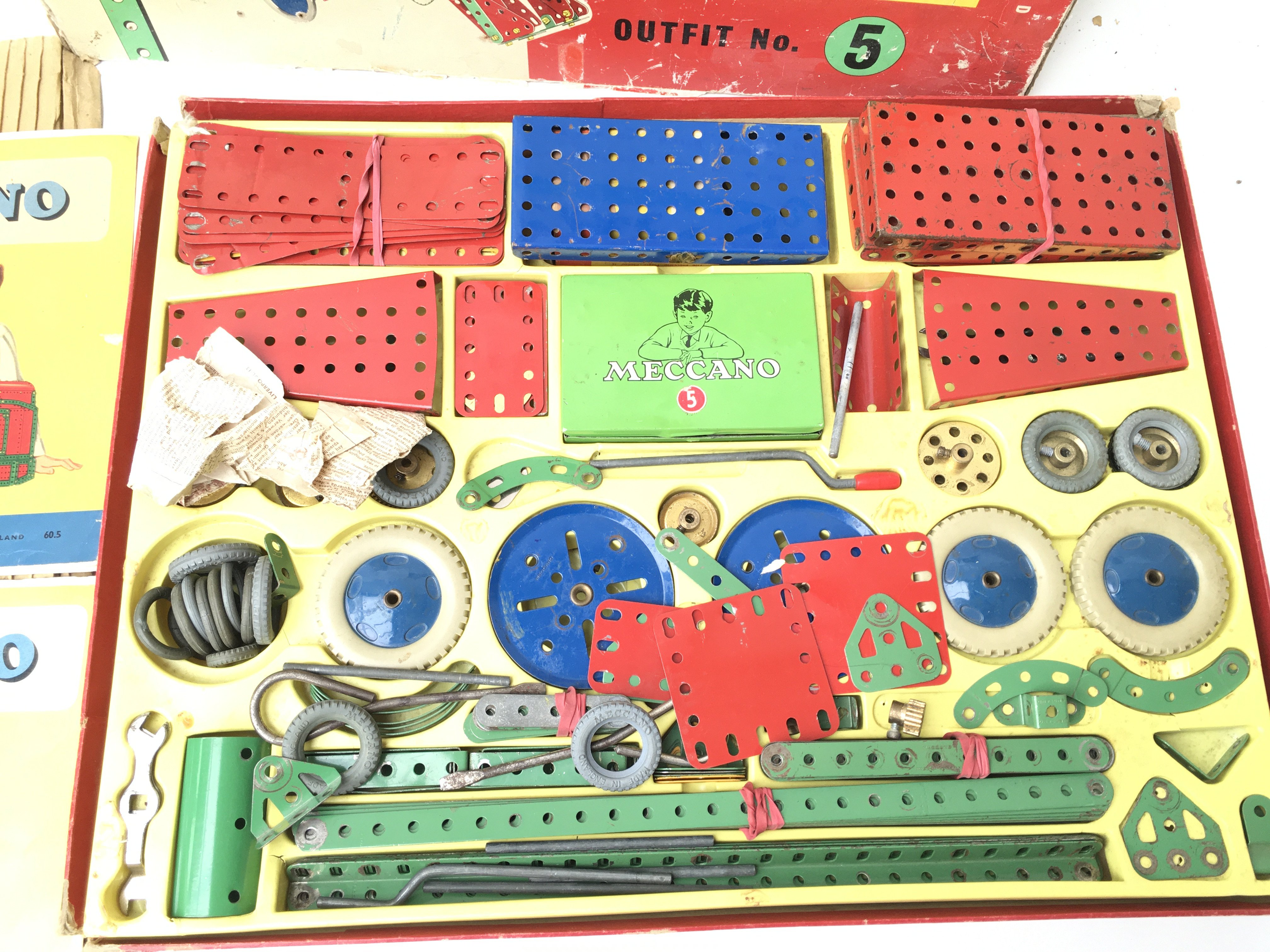 A Boxed Meccano outfit No.5 also includes No.1. - Image 2 of 4