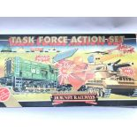 A Boxed Hornby Task Force Action Set. Appears to b