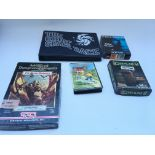 5 Computer games. Including total recall. Dungeons and dragons