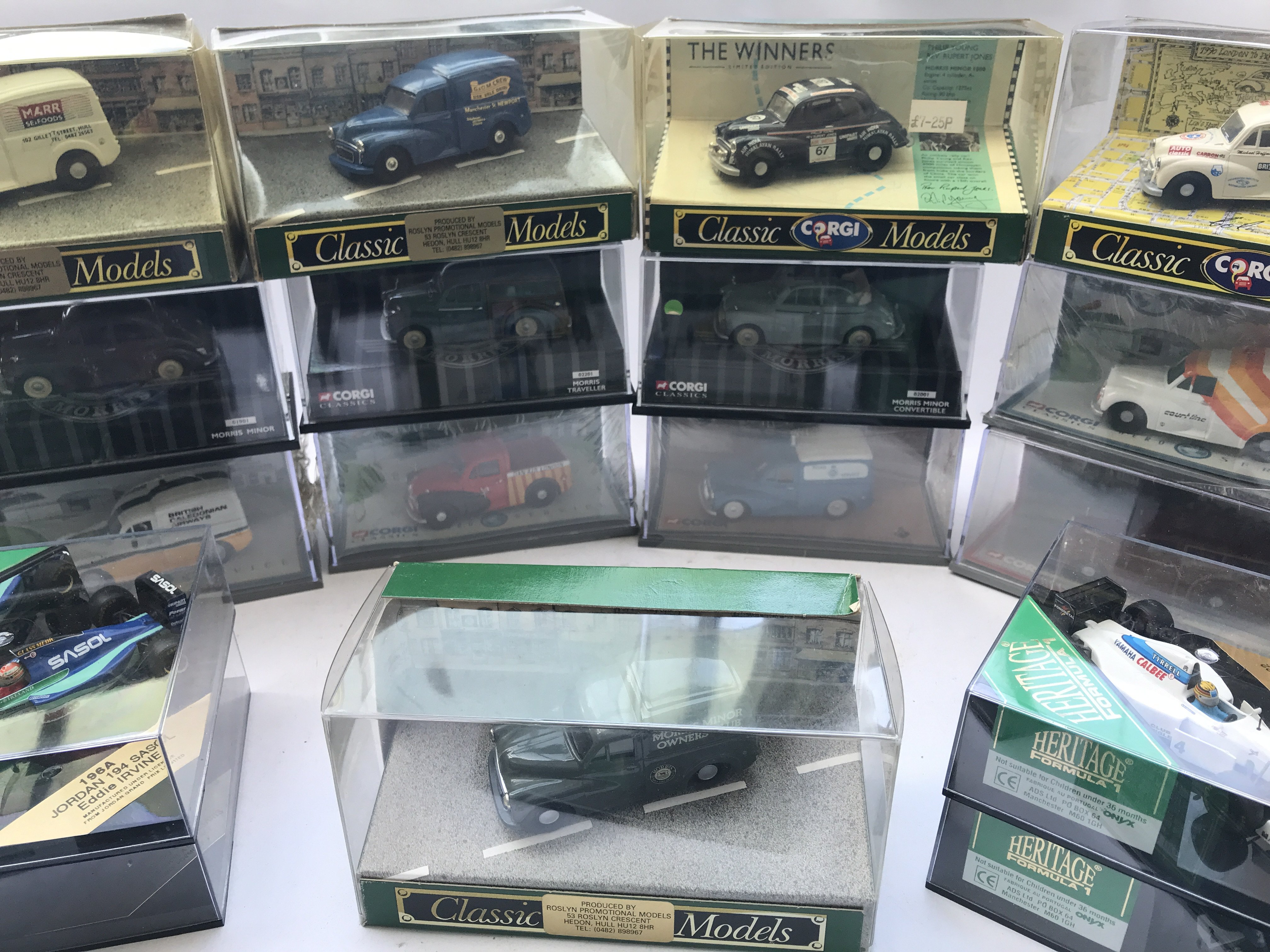 A Collection of Corgi Classic Morris Minors and a - Image 2 of 3