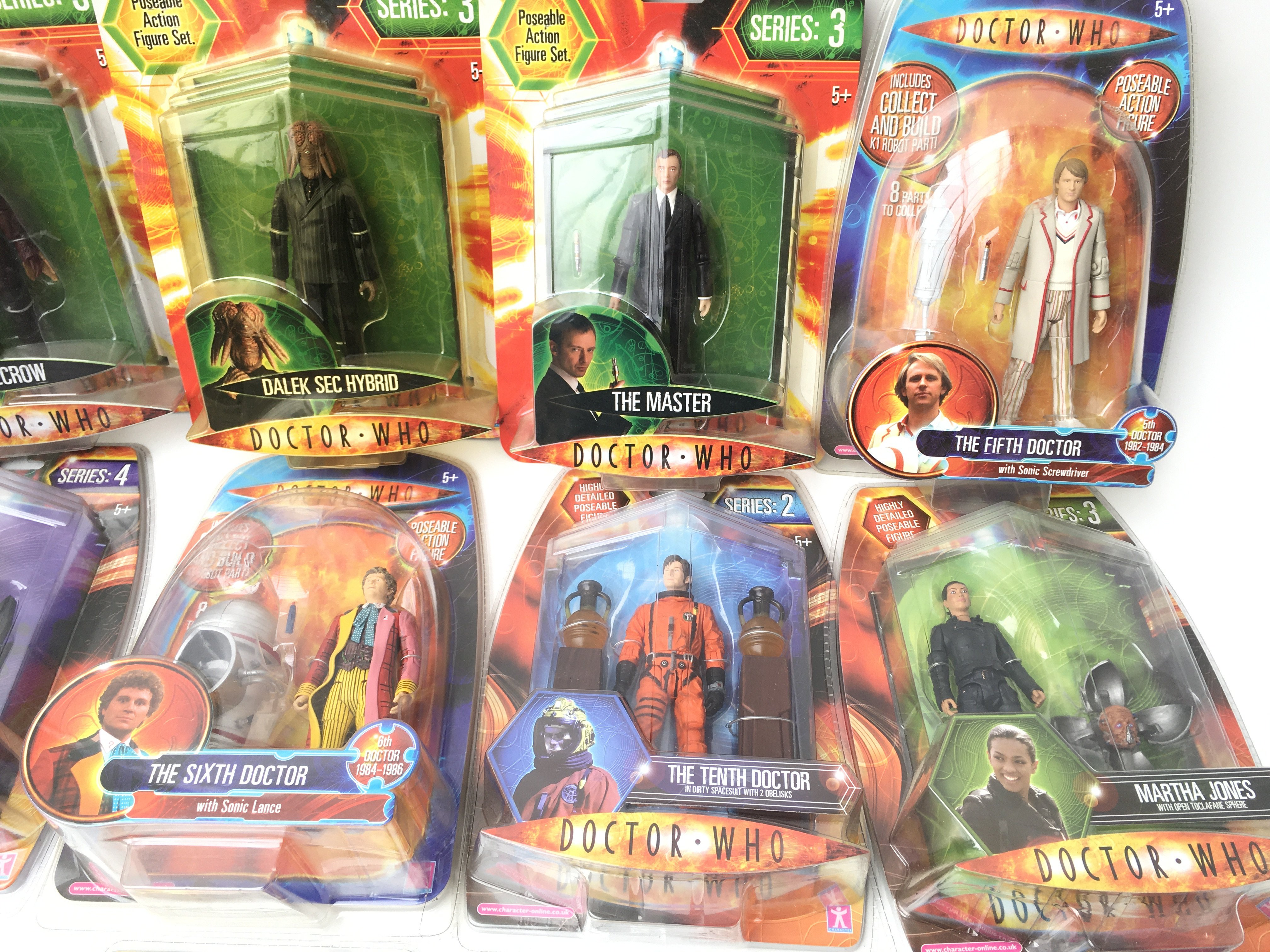A Collection of Carded Doctor Who Figures.includin - Image 4 of 4